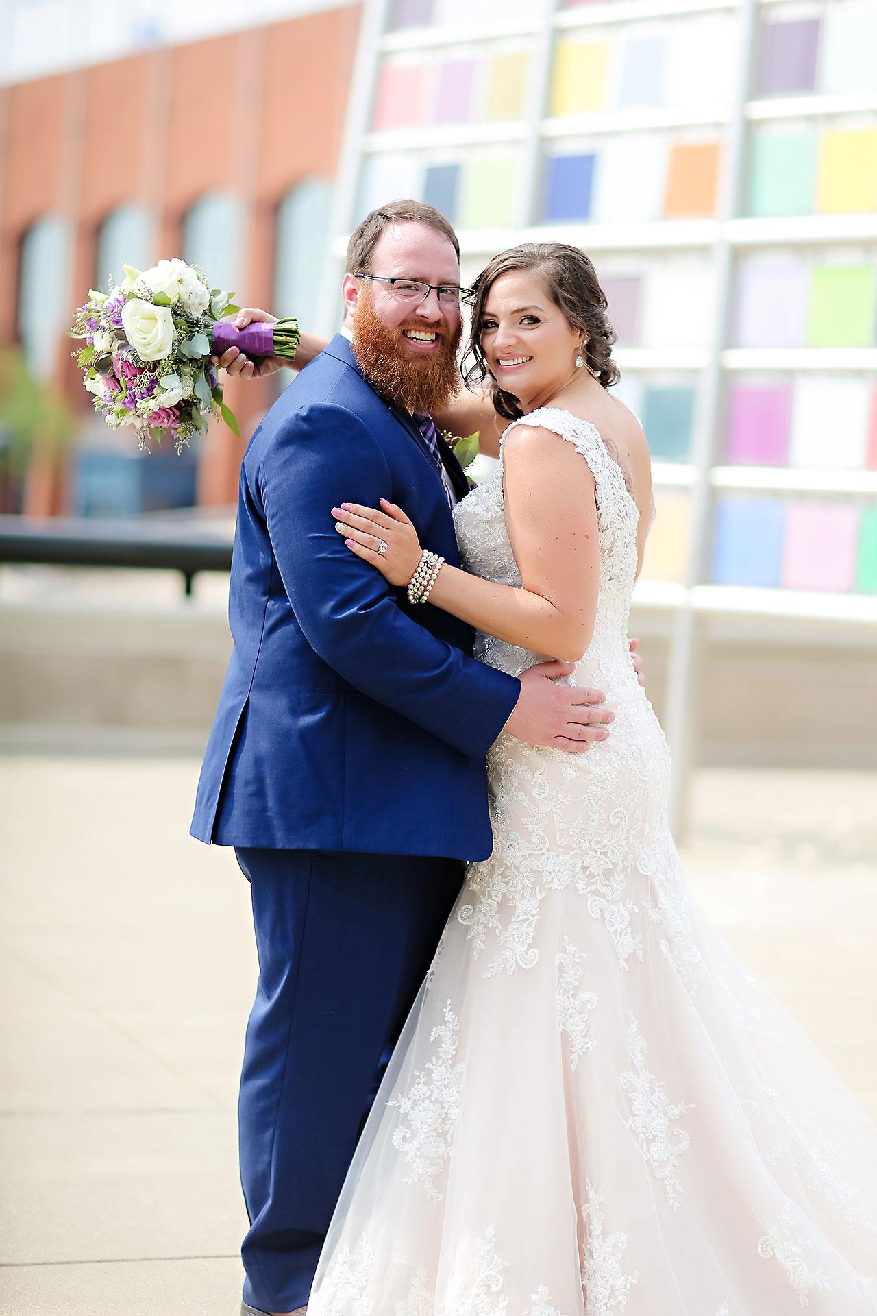 Kim Mike Indiana State Museum Wedding 114