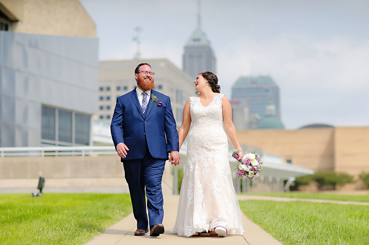 Kim Mike Indiana State Museum Wedding 116