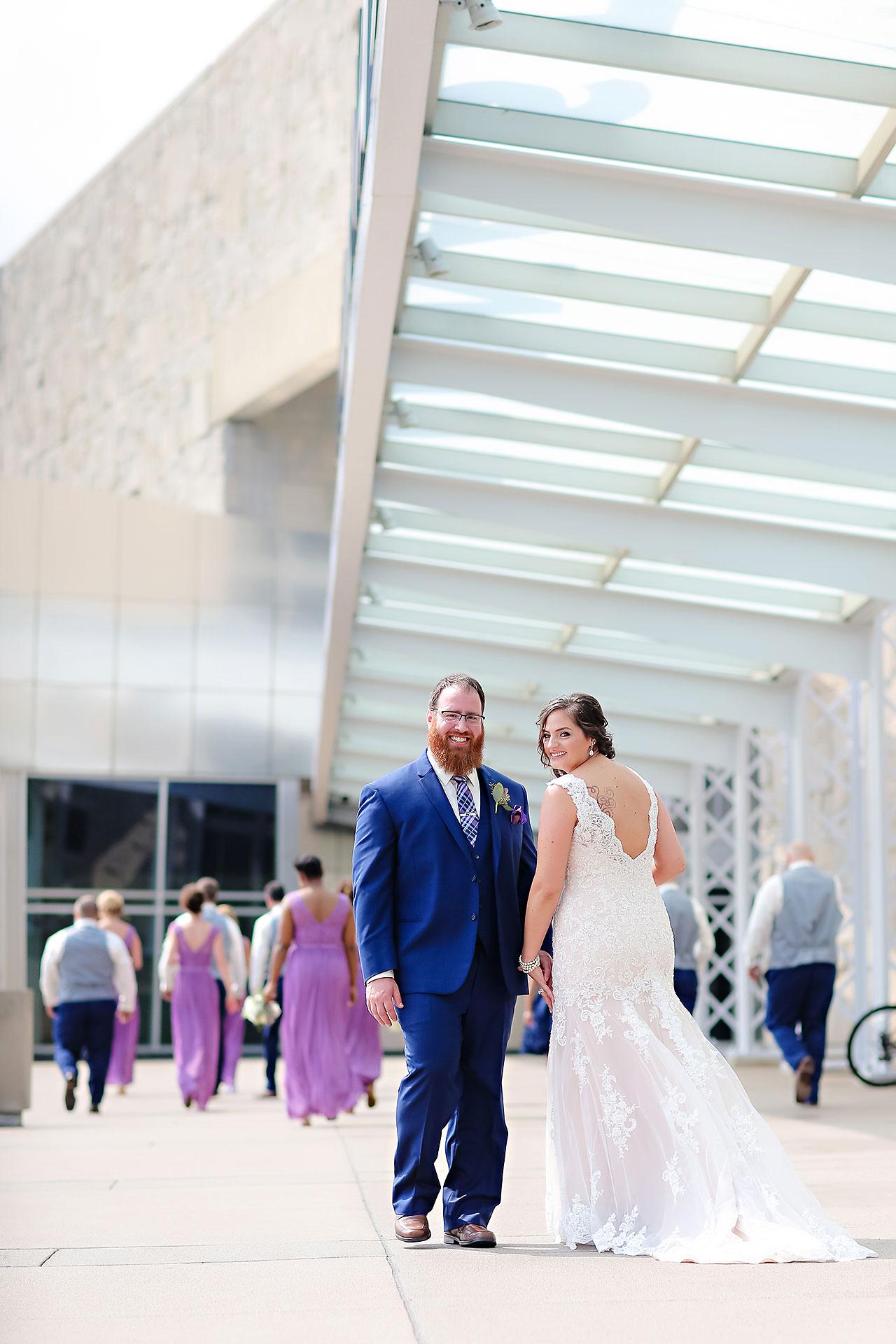 Kim Mike Indiana State Museum Wedding 112