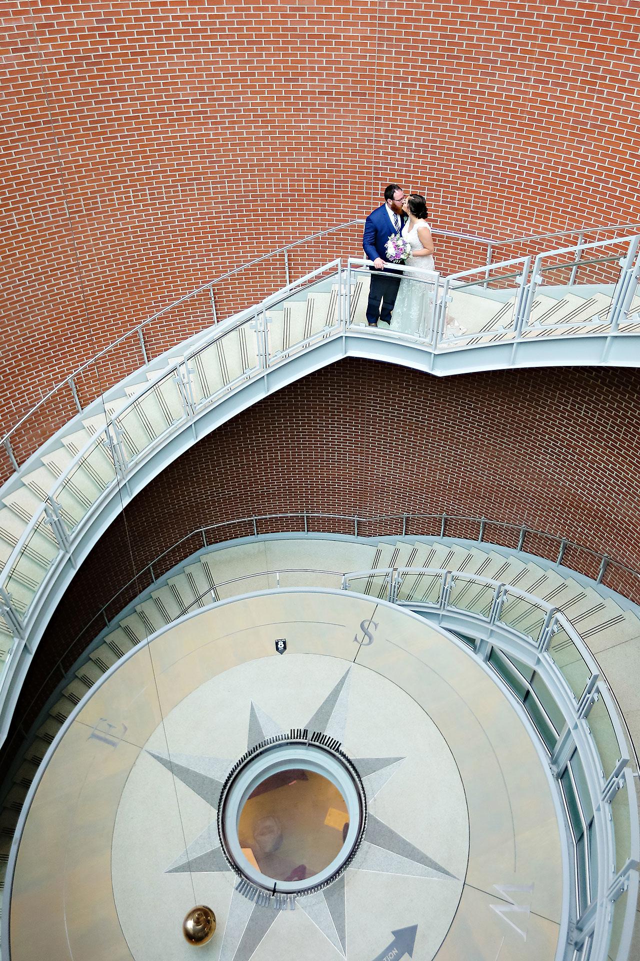 Kim Mike Indiana State Museum Wedding 092