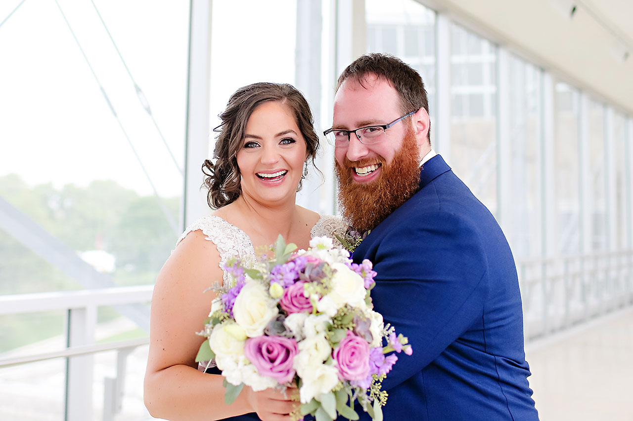Kim Mike Indiana State Museum Wedding 064