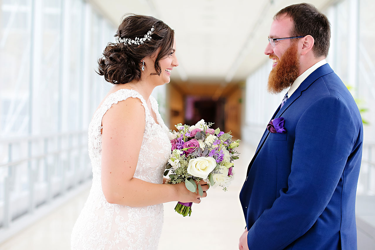 Kim Mike Indiana State Museum Wedding 050
