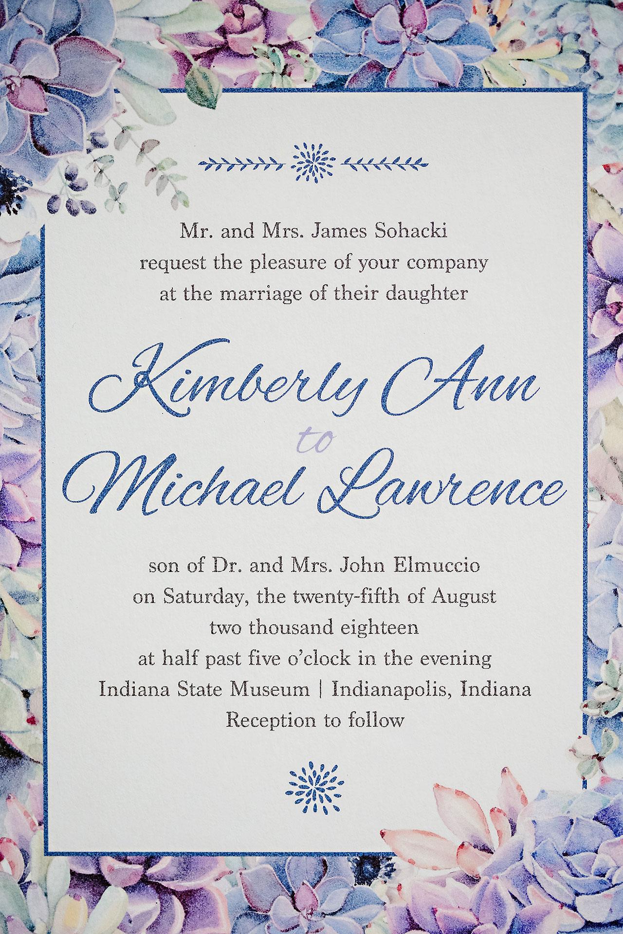 Kim Mike Indiana State Museum Wedding 004