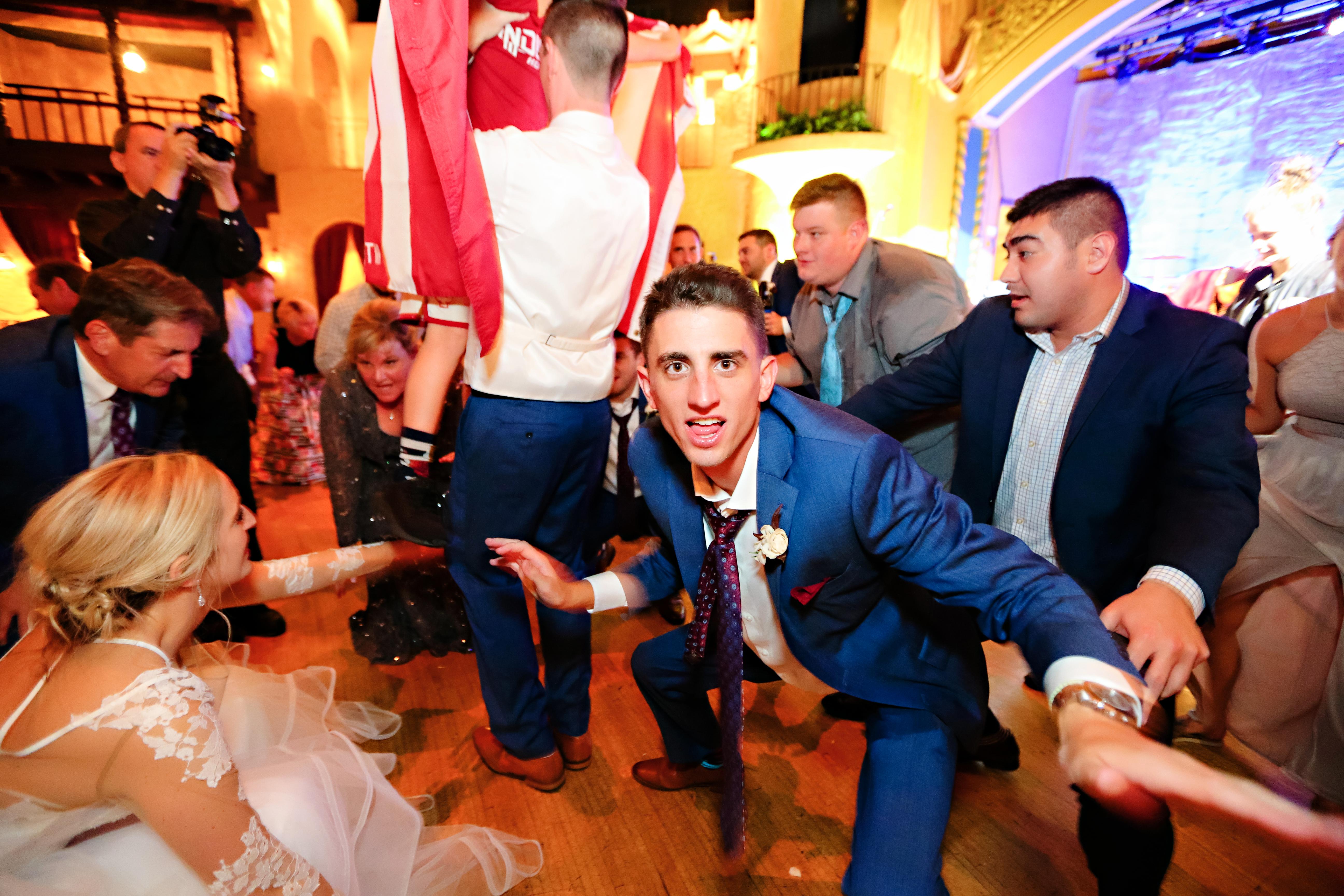 Jordan Ryan Indiana Roof Ballroom Wedding 420