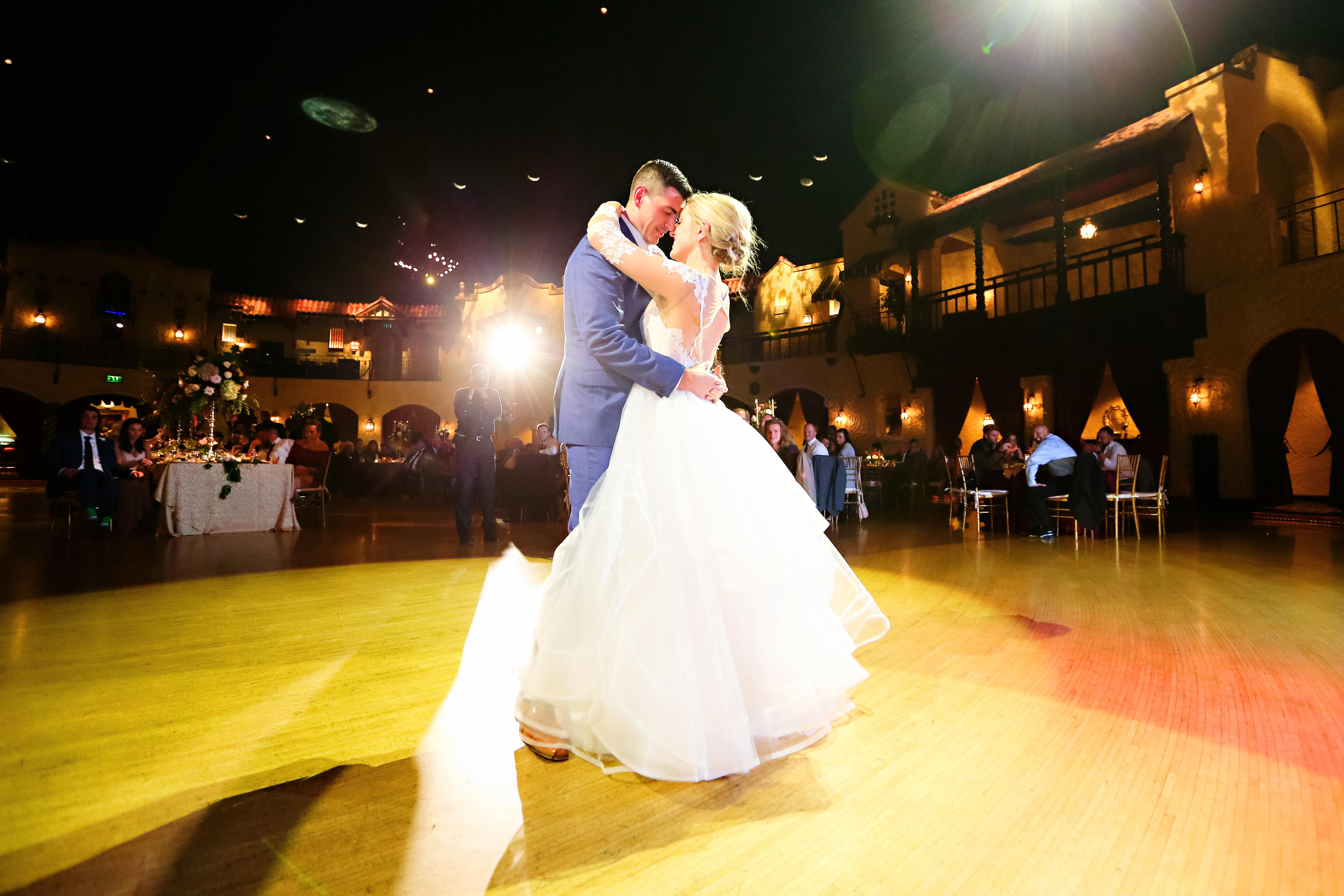 Jordan Ryan Indiana Roof Ballroom Wedding 347