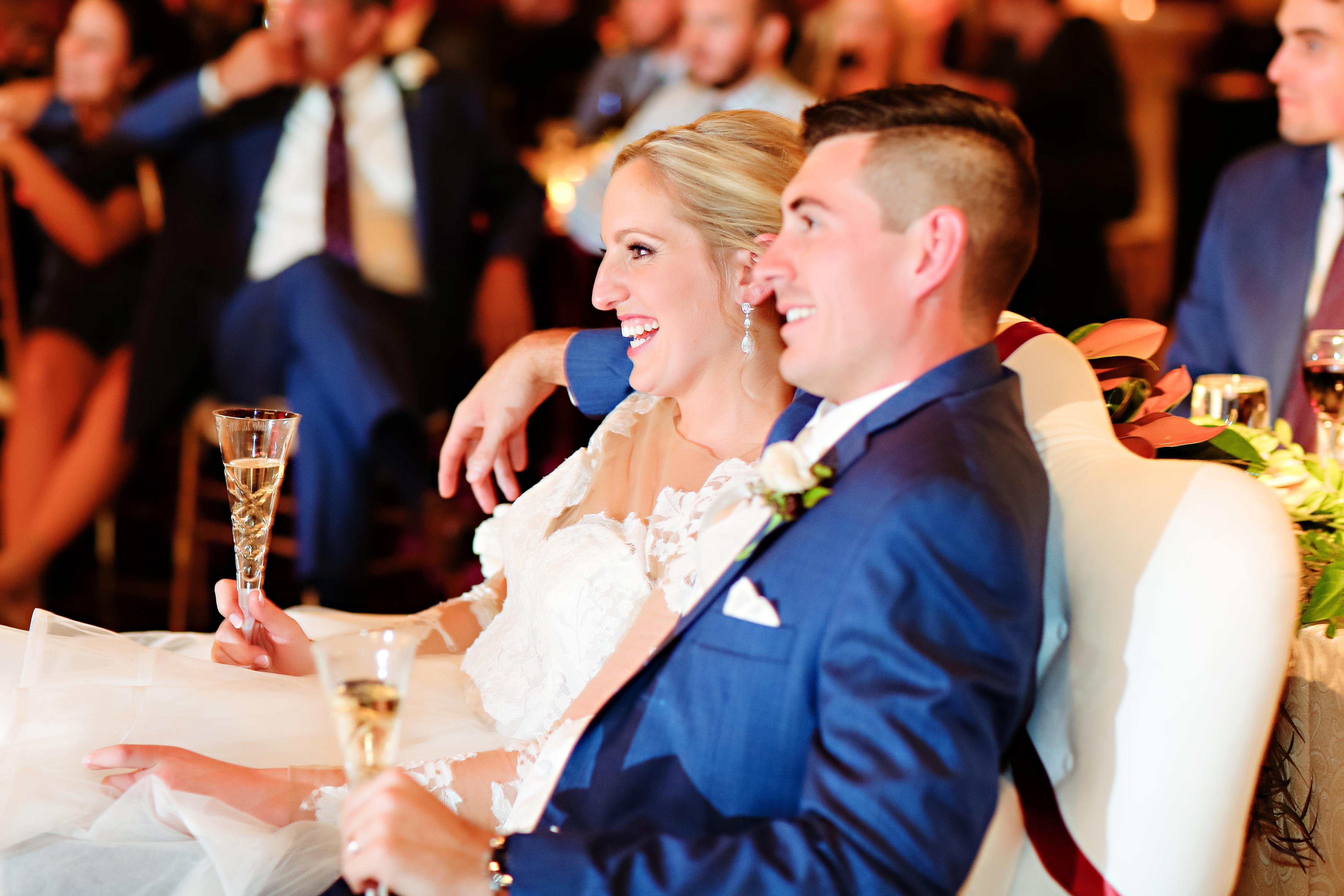 Jordan Ryan Indiana Roof Ballroom Wedding 338