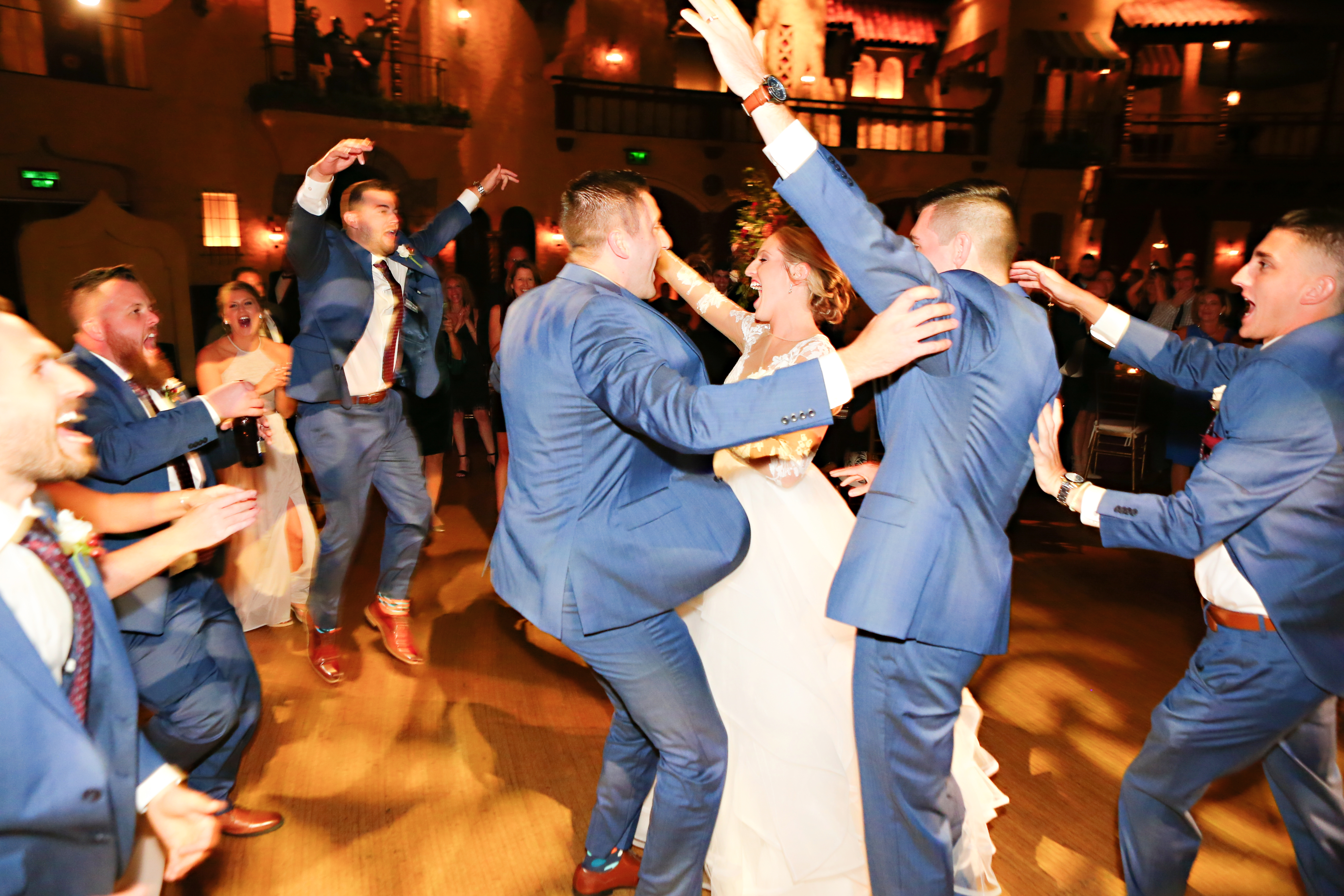 Jordan Ryan Indiana Roof Ballroom Wedding 316