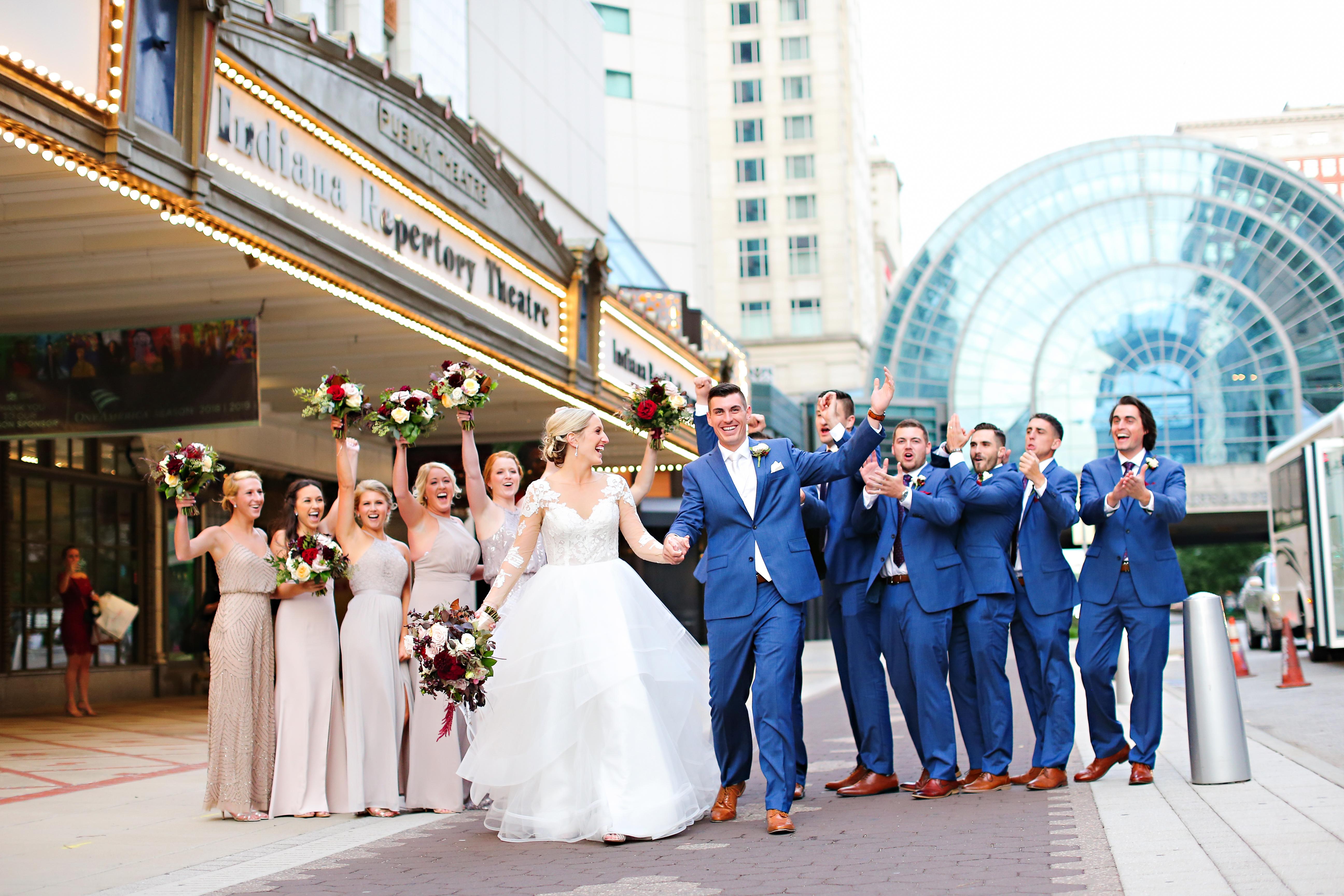 Jordan Ryan Indiana Roof Ballroom Wedding 254