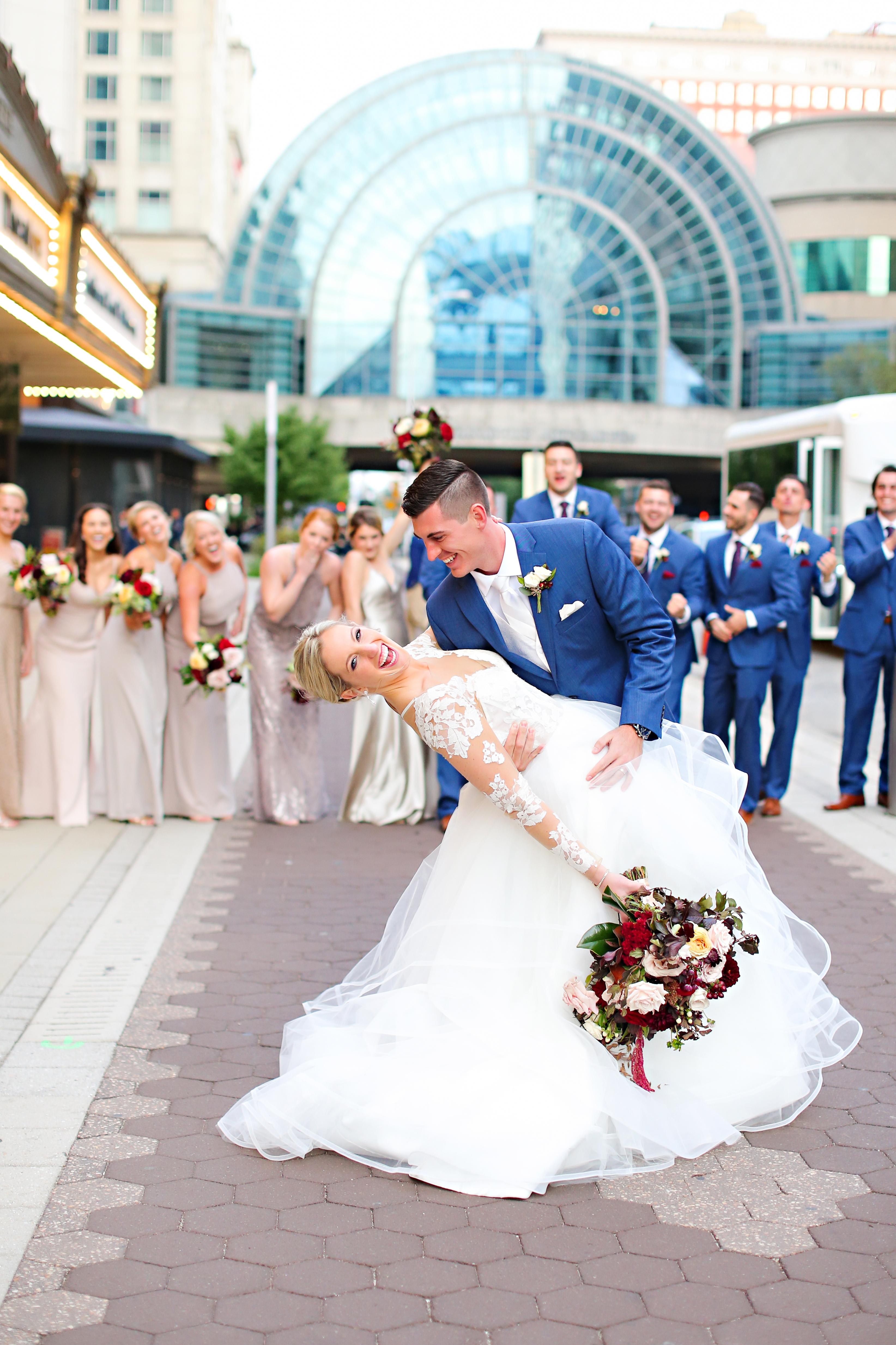 Jordan Ryan Indiana Roof Ballroom Wedding 248