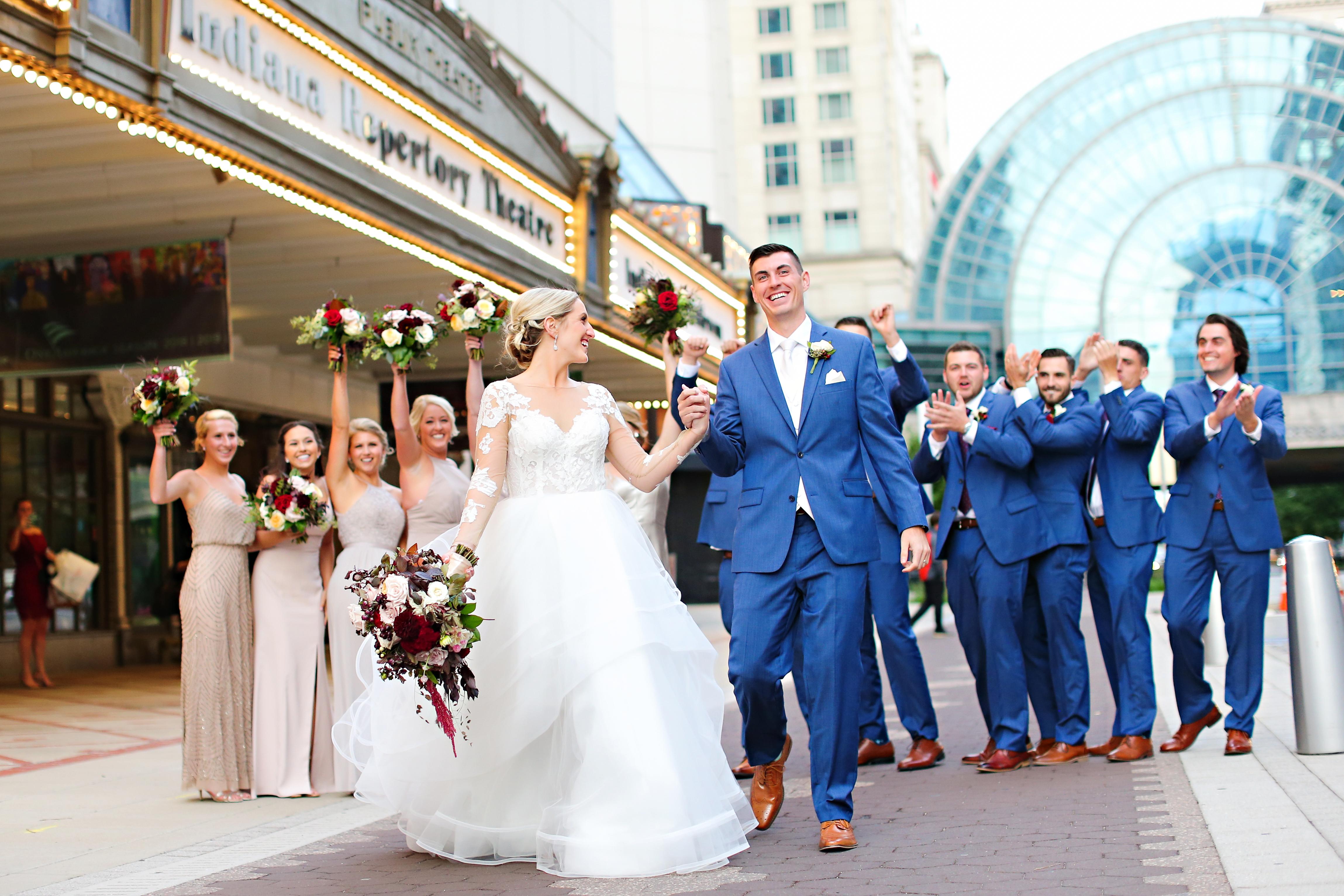 Jordan Ryan Indiana Roof Ballroom Wedding 247