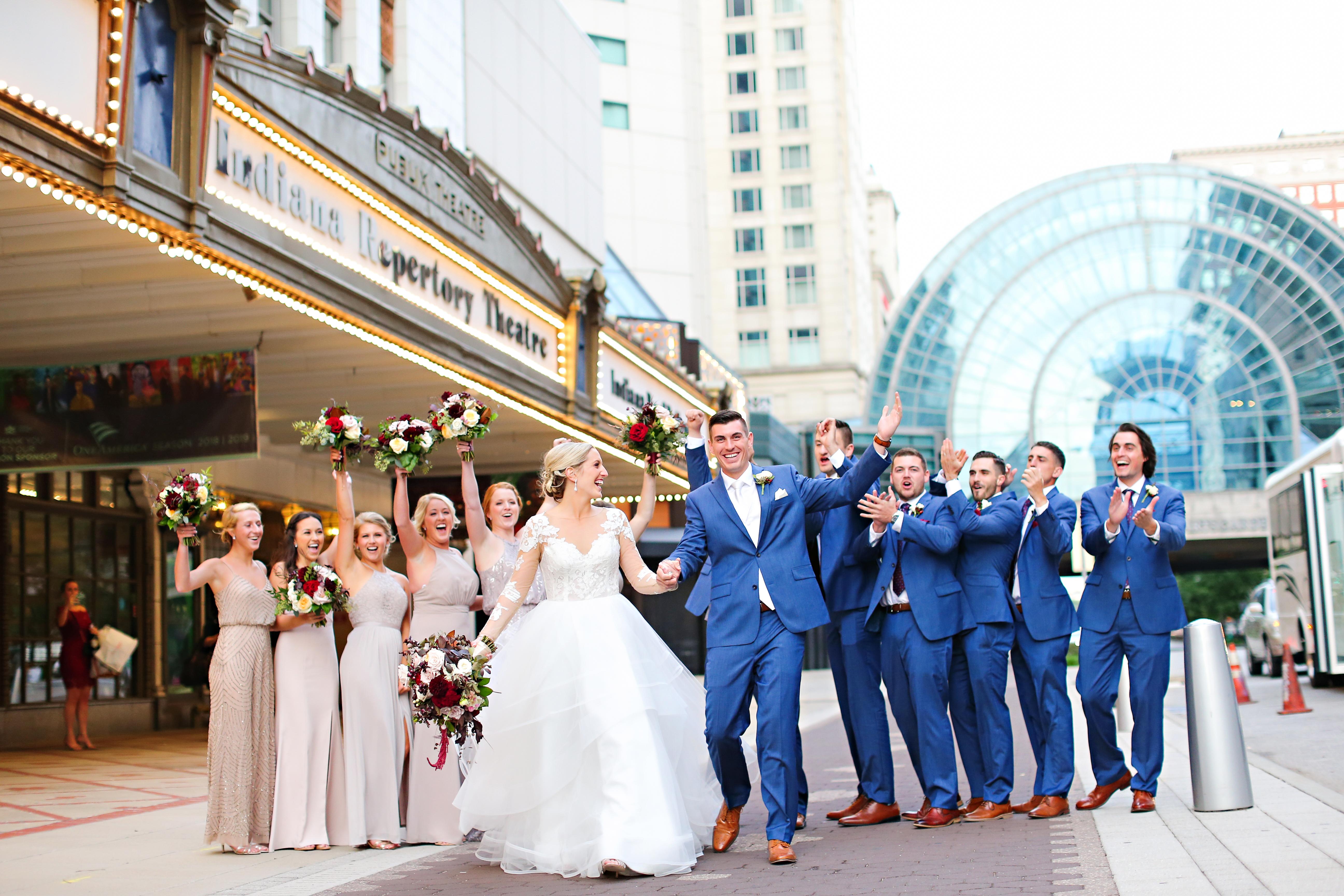 Jordan Ryan Indiana Roof Ballroom Wedding 246