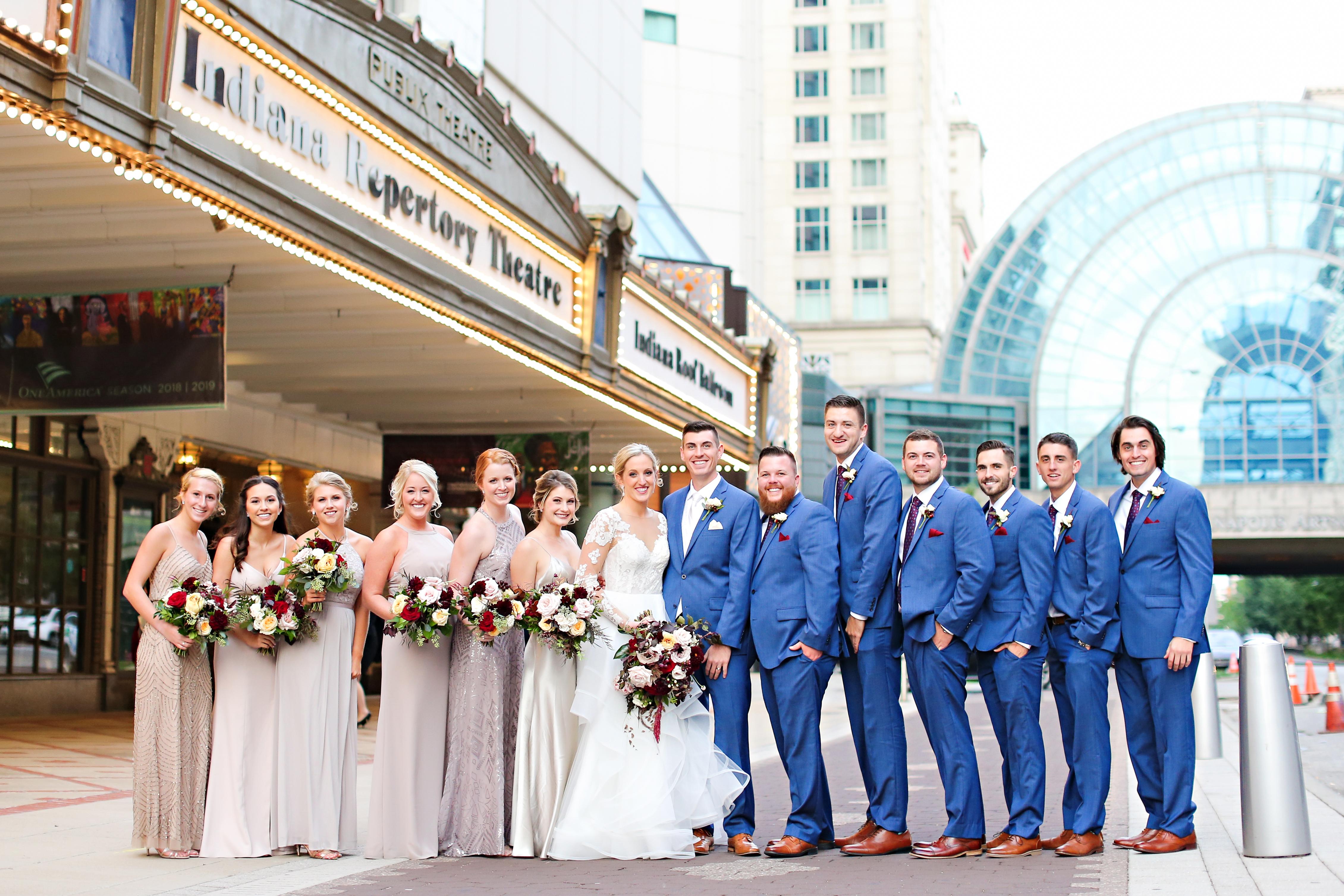 Jordan Ryan Indiana Roof Ballroom Wedding 245