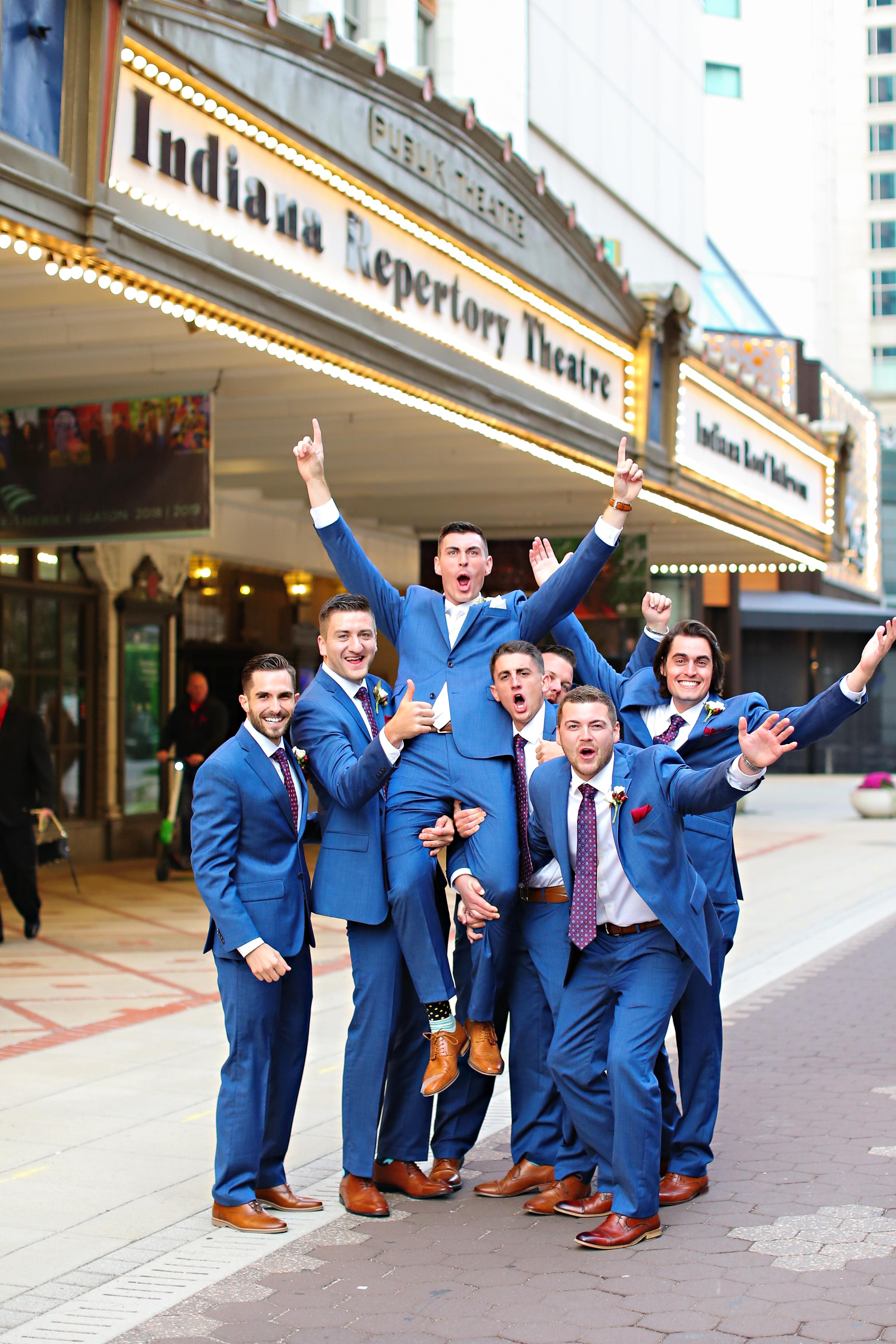 Jordan Ryan Indiana Roof Ballroom Wedding 243