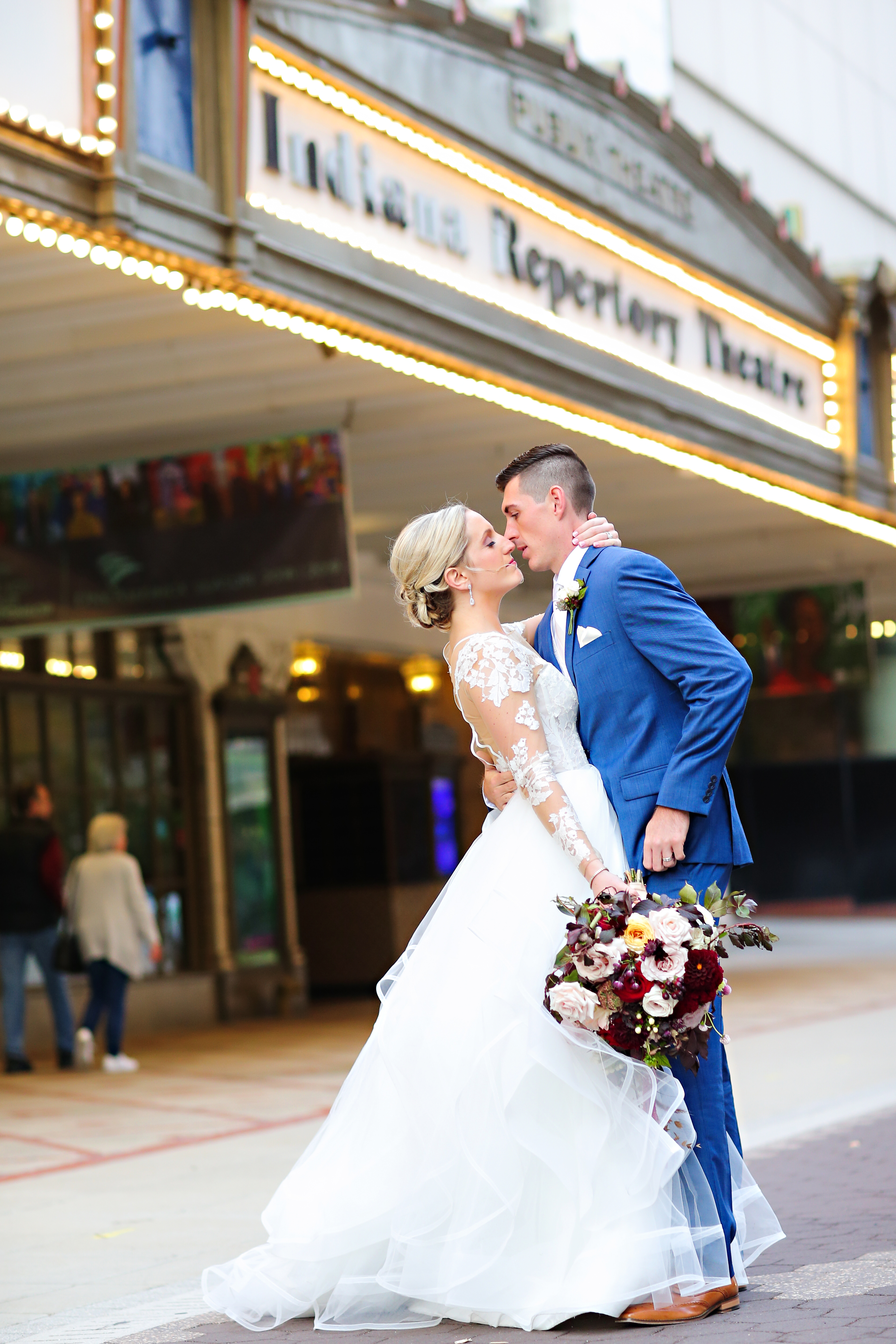 Jordan Ryan Indiana Roof Ballroom Wedding 244