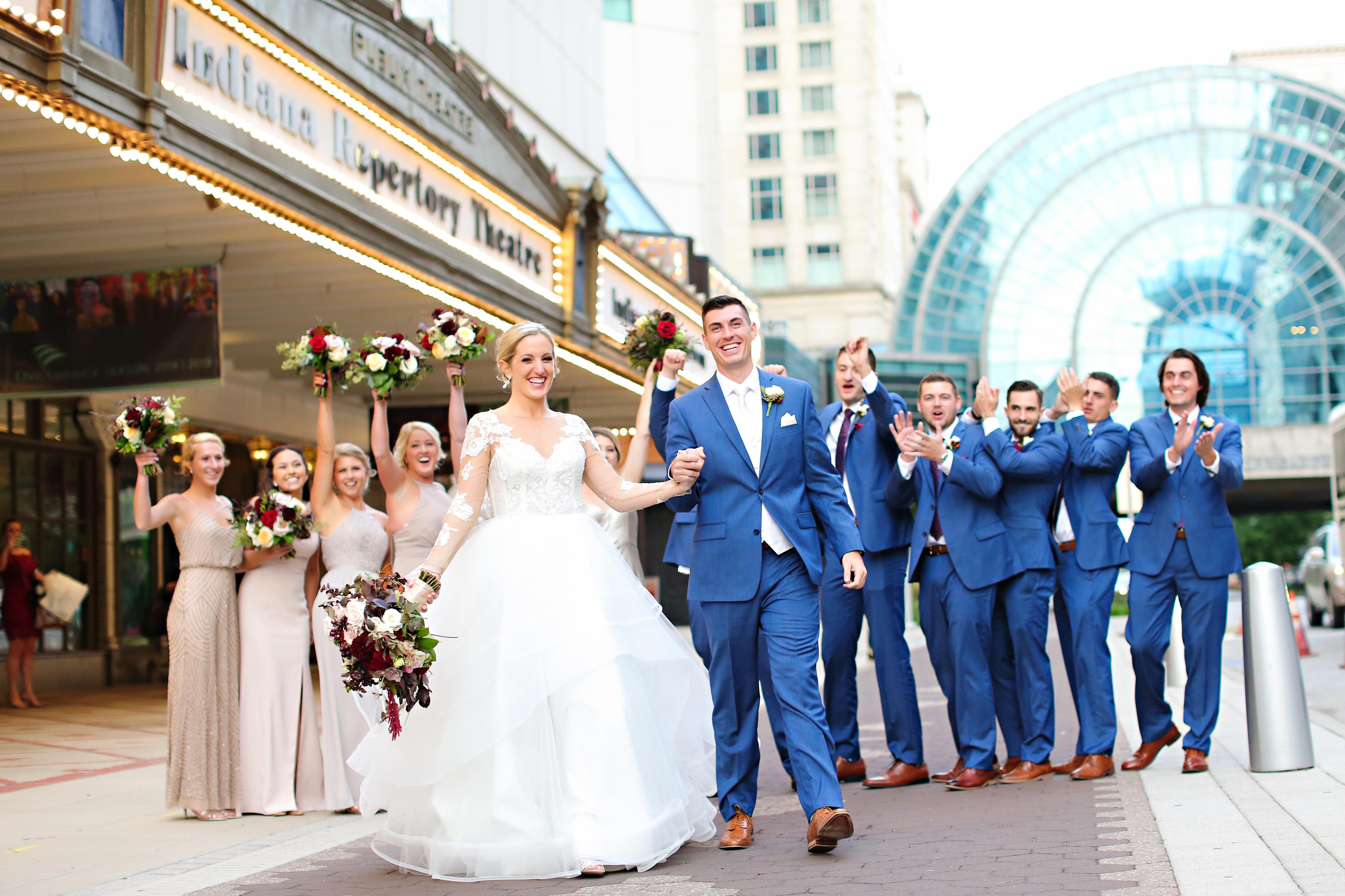 Jordan Ryan Indiana Roof Ballroom Wedding 239