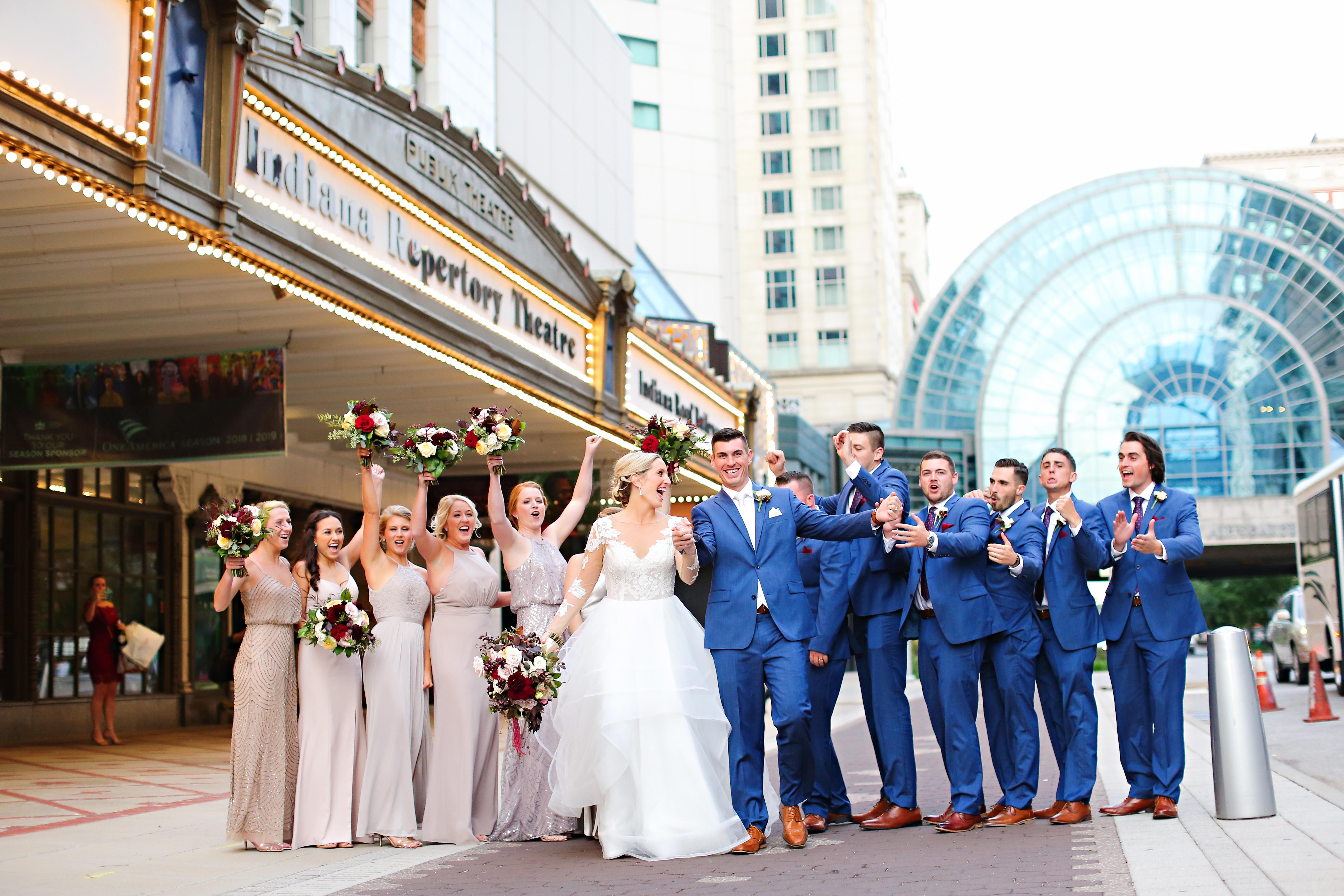 Jordan Ryan Indiana Roof Ballroom Wedding 237