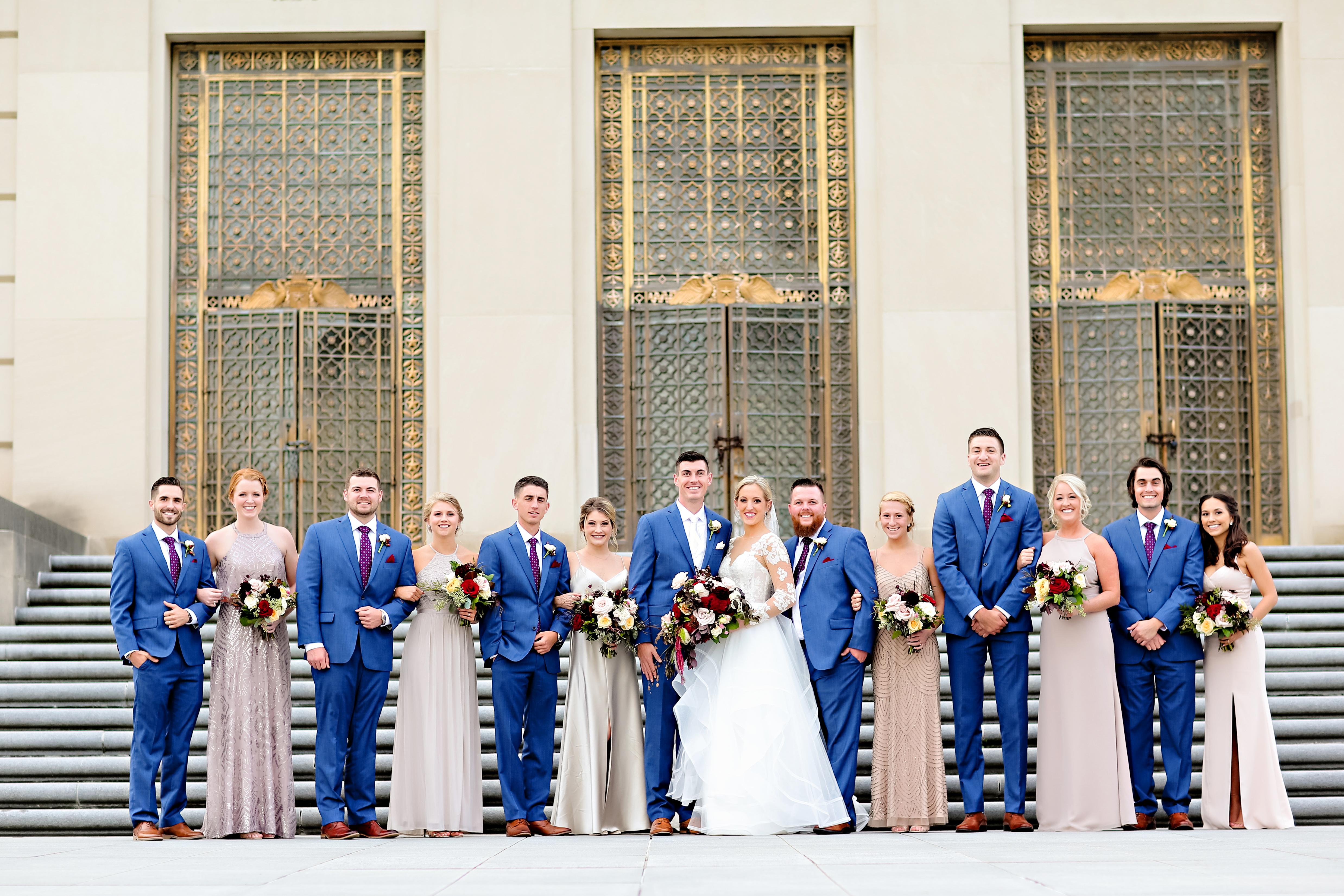Jordan Ryan Indiana Roof Ballroom Wedding 212