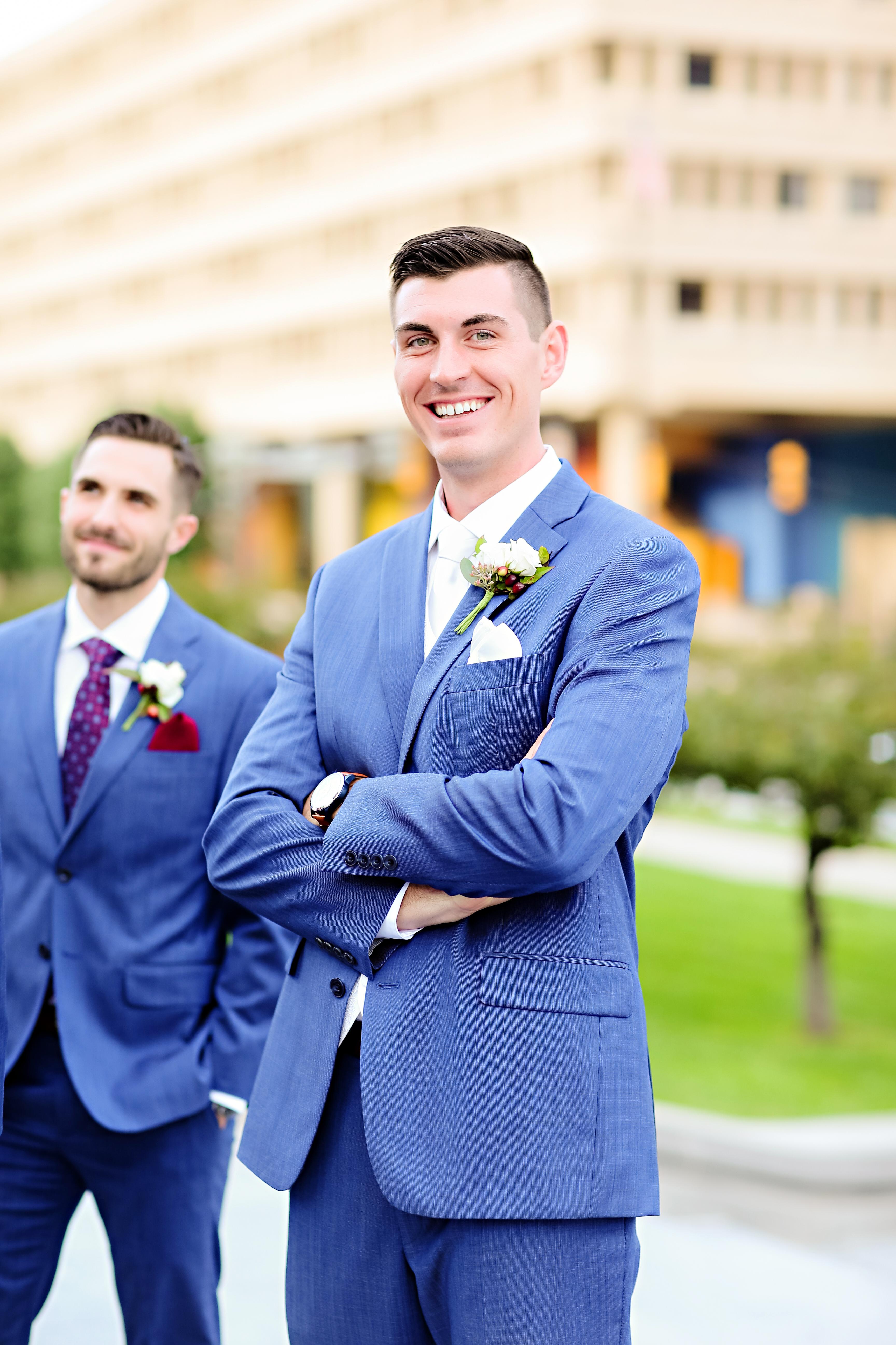 Jordan Ryan Indiana Roof Ballroom Wedding 209