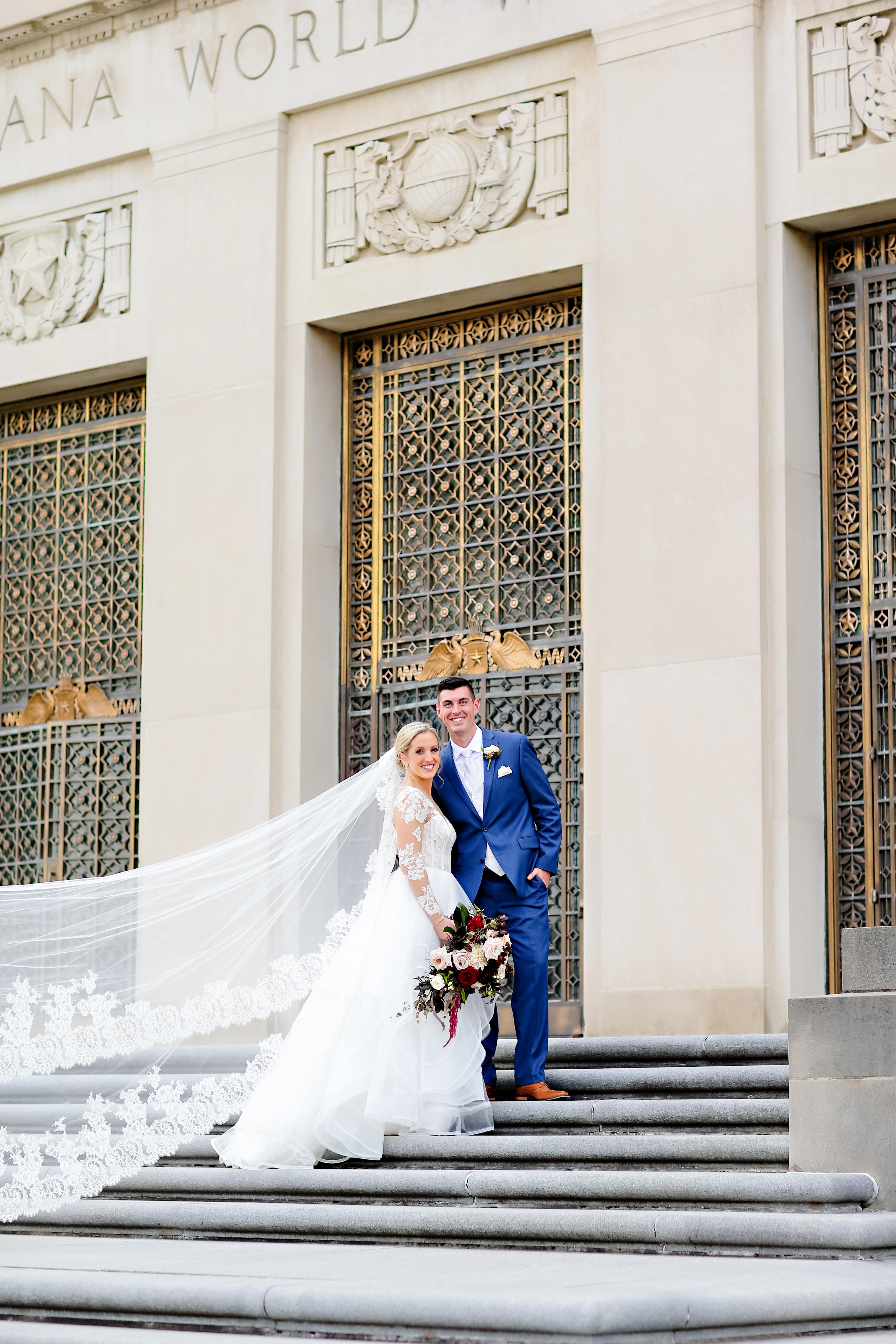 Jordan Ryan Indiana Roof Ballroom Wedding 198