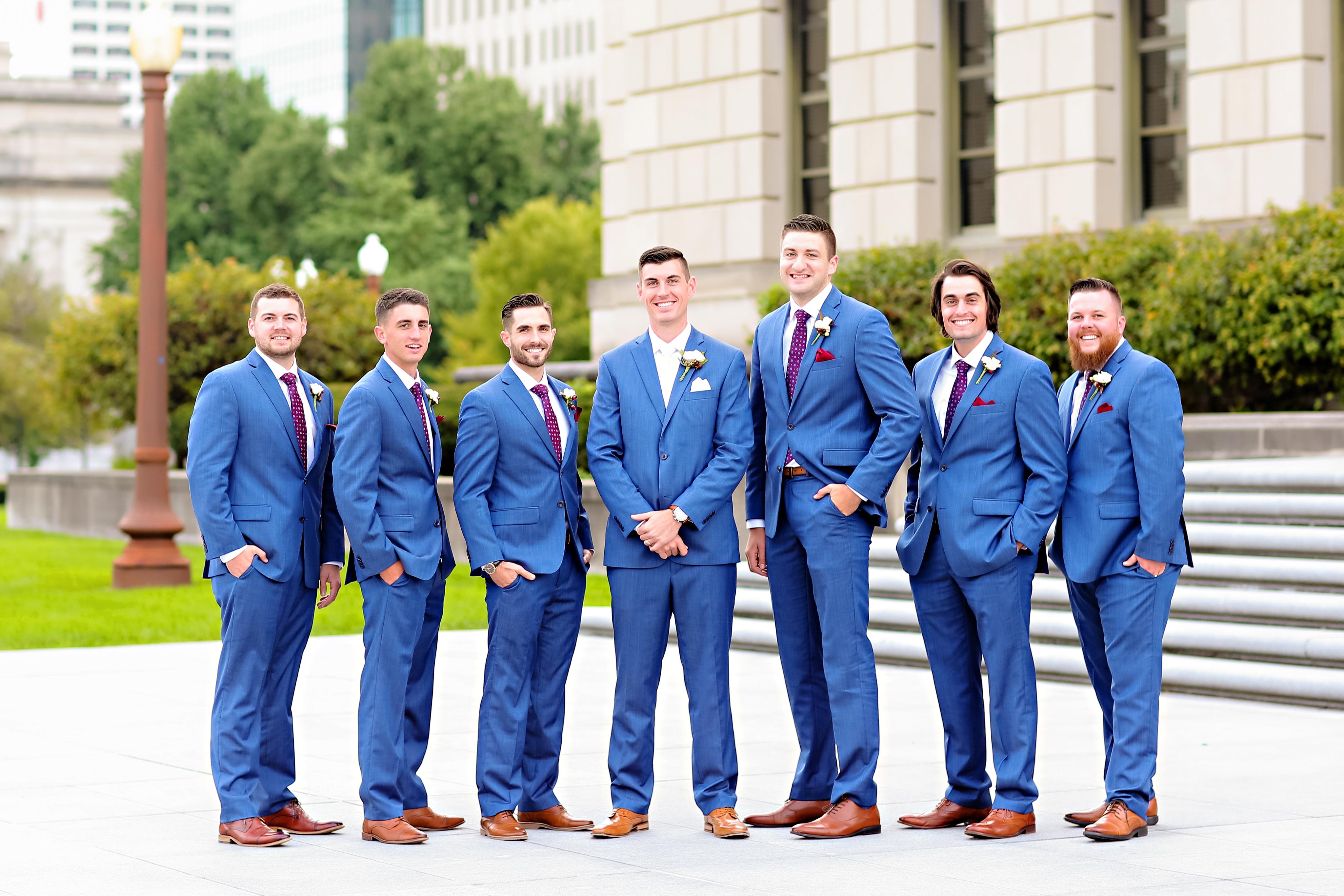Jordan Ryan Indiana Roof Ballroom Wedding 193