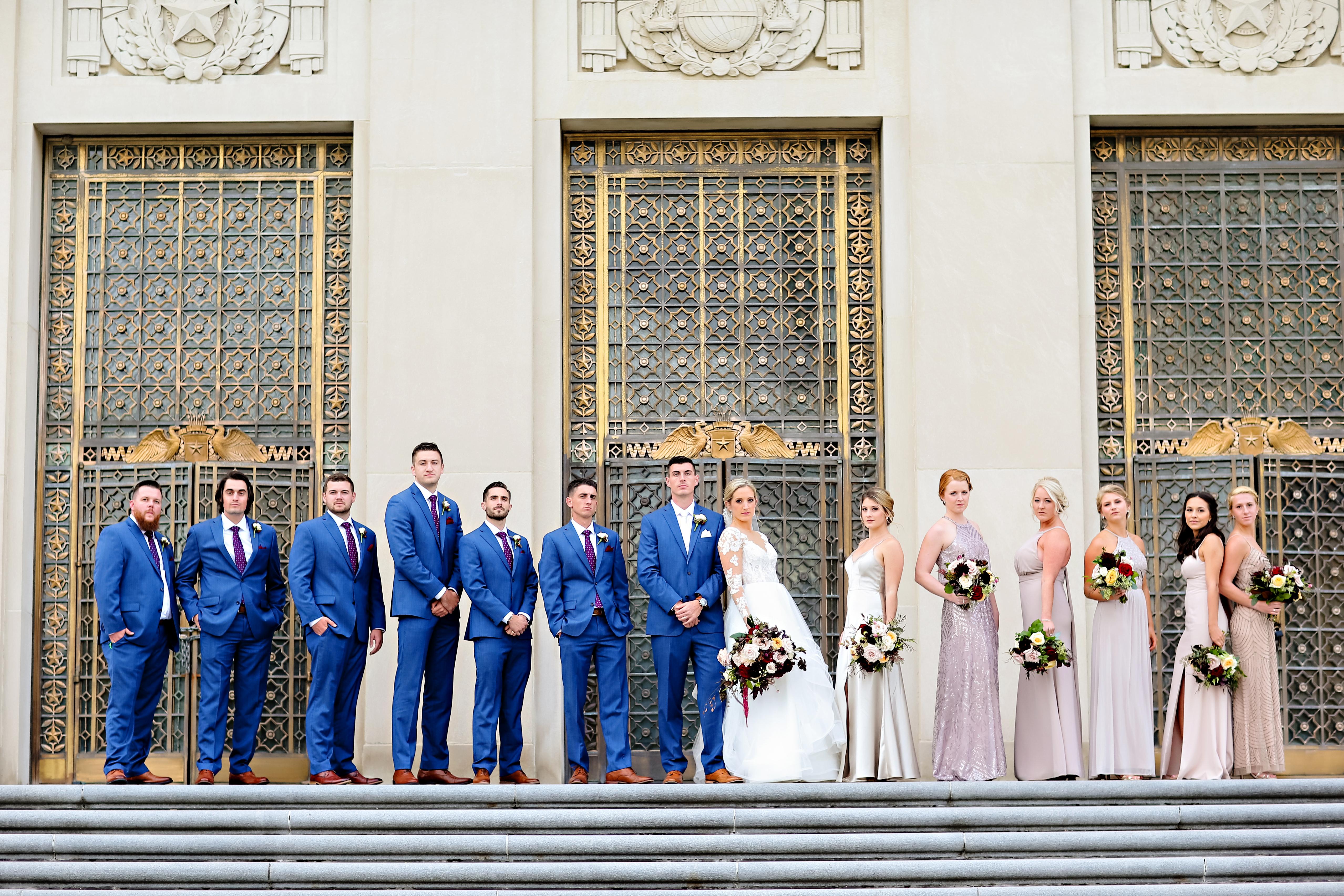 Jordan Ryan Indiana Roof Ballroom Wedding 189