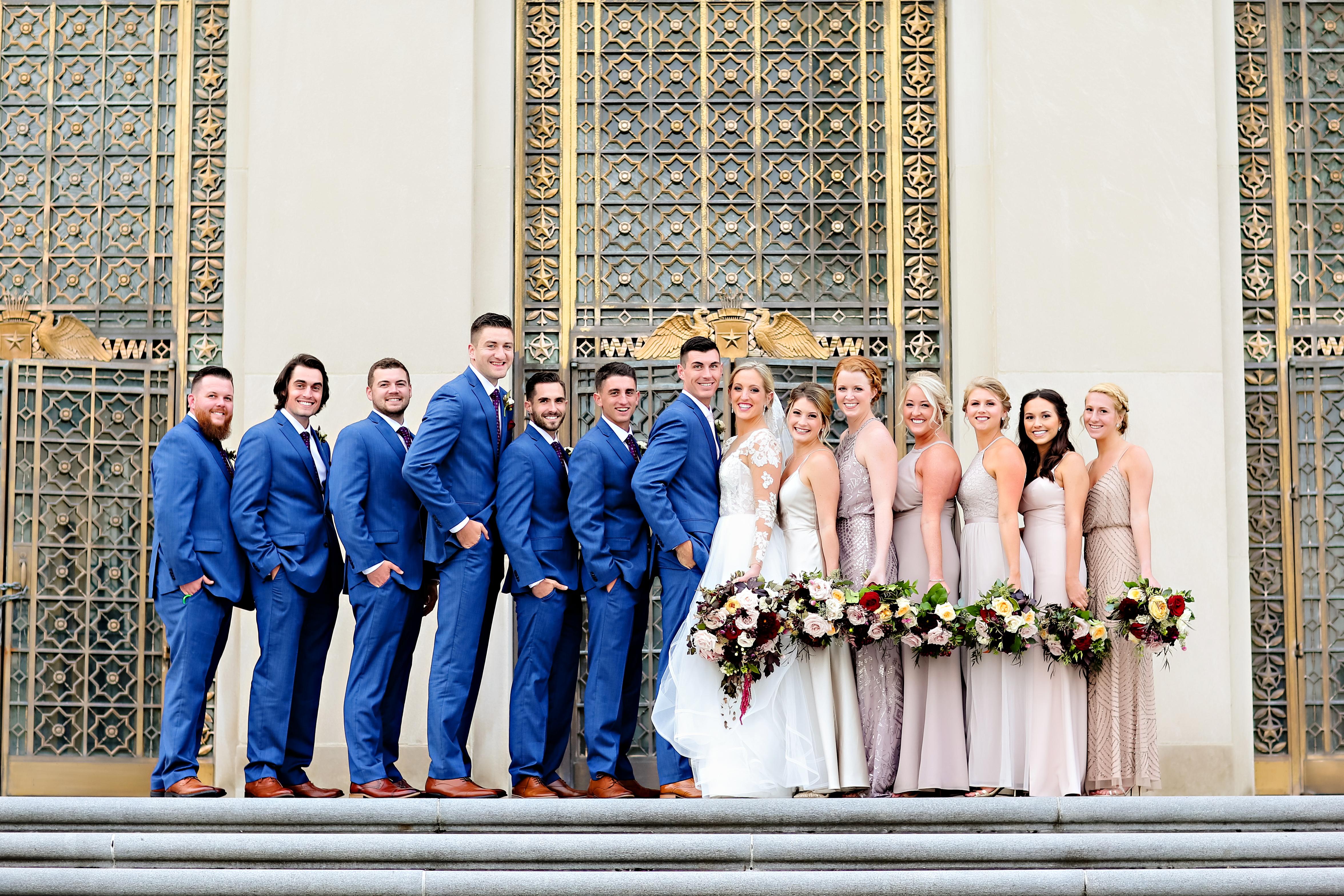 Jordan Ryan Indiana Roof Ballroom Wedding 186
