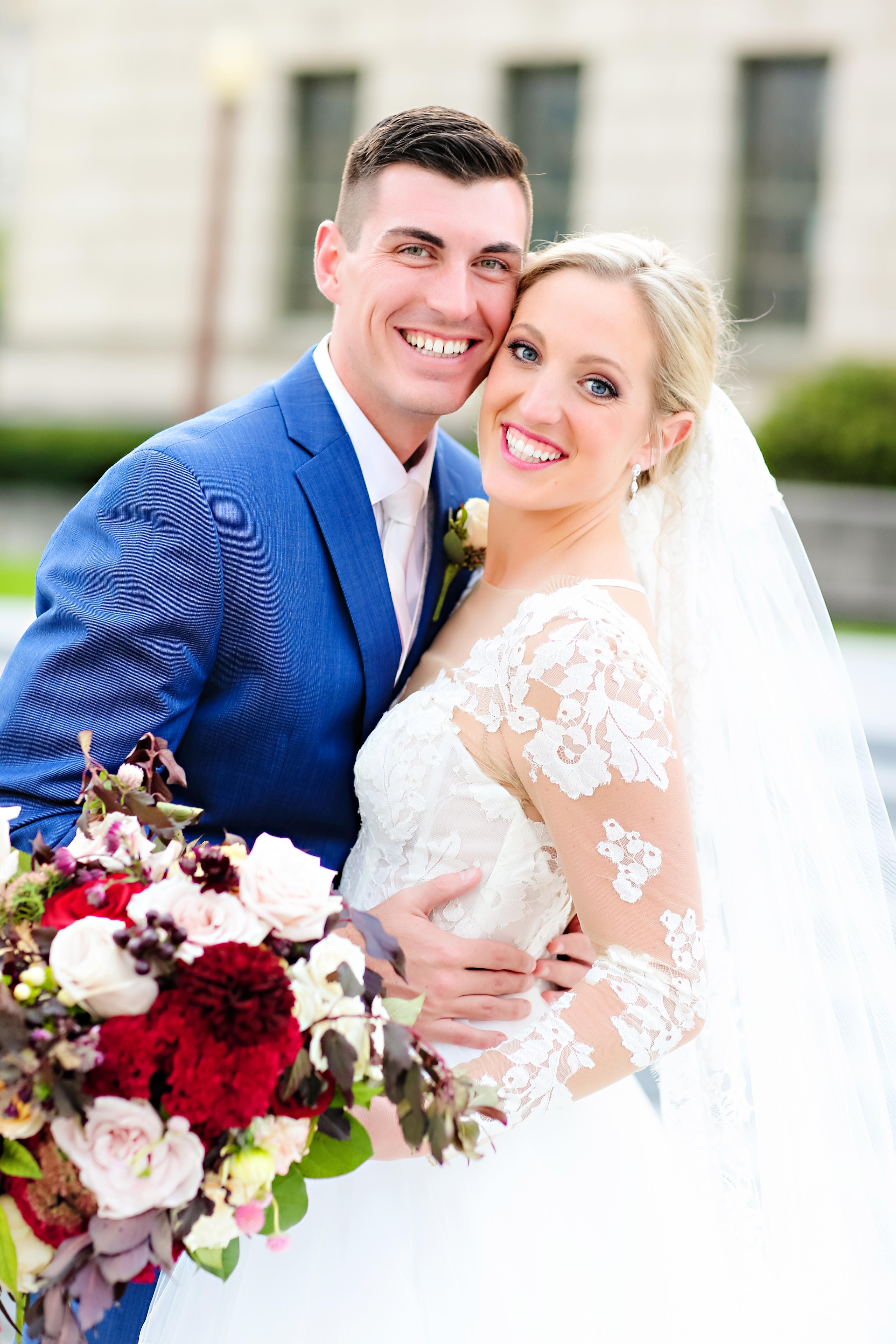 Jordan Ryan Indiana Roof Ballroom Wedding 173
