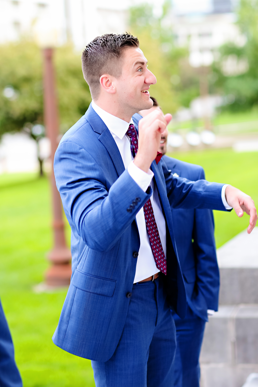 Jordan Ryan Indiana Roof Ballroom Wedding 163