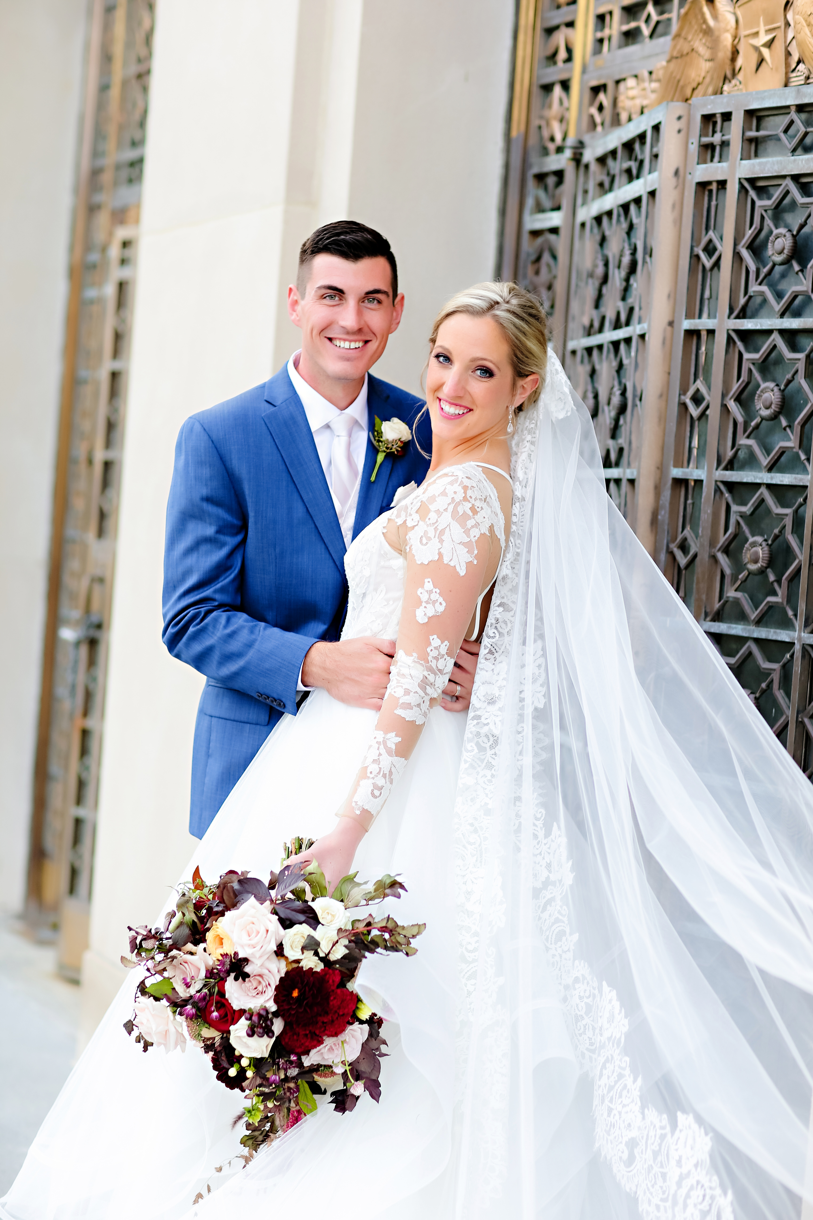 Jordan Ryan Indiana Roof Ballroom Wedding 158