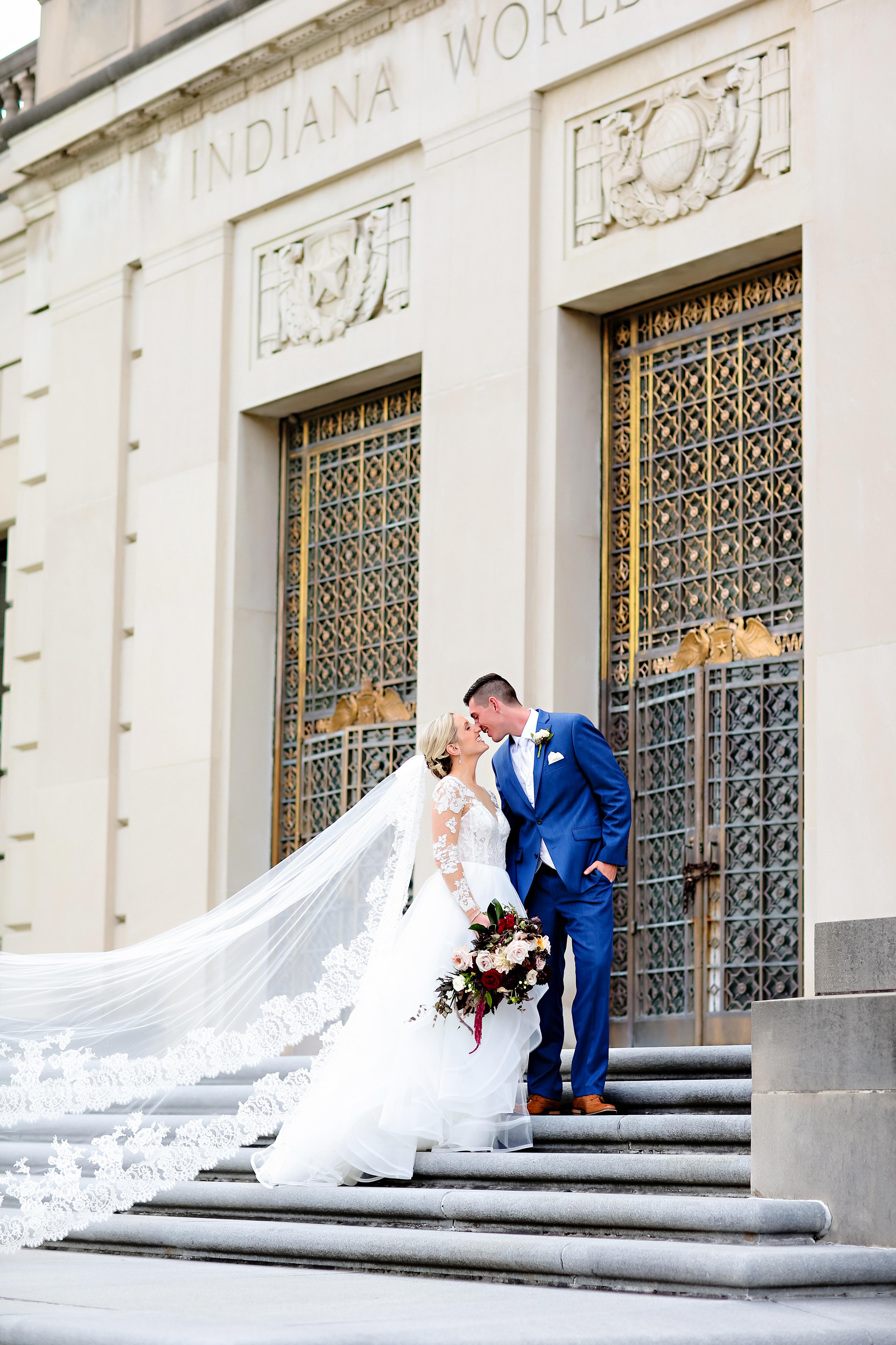 Jordan Ryan Indiana Roof Ballroom Wedding 156