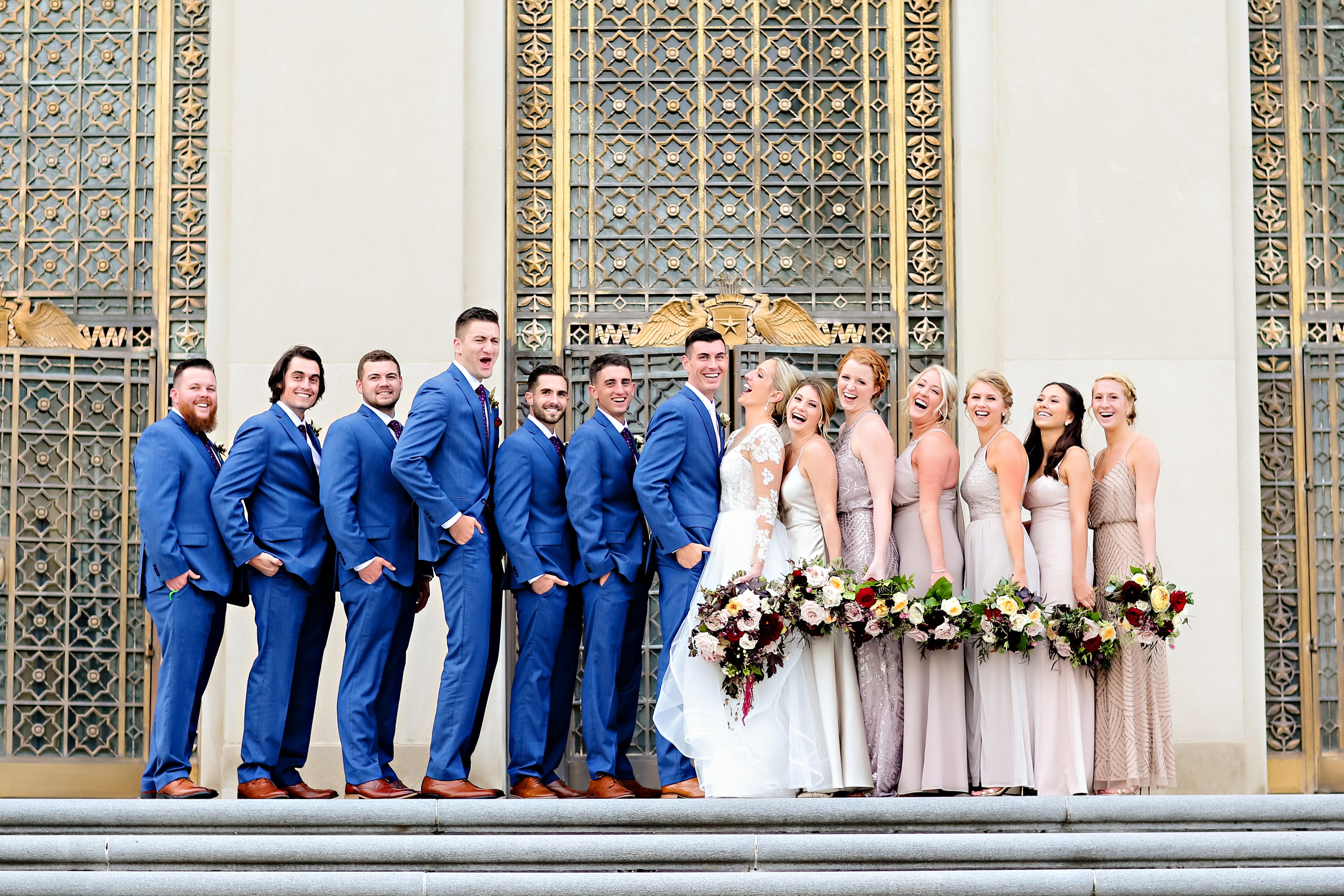 Jordan Ryan Indiana Roof Ballroom Wedding 155