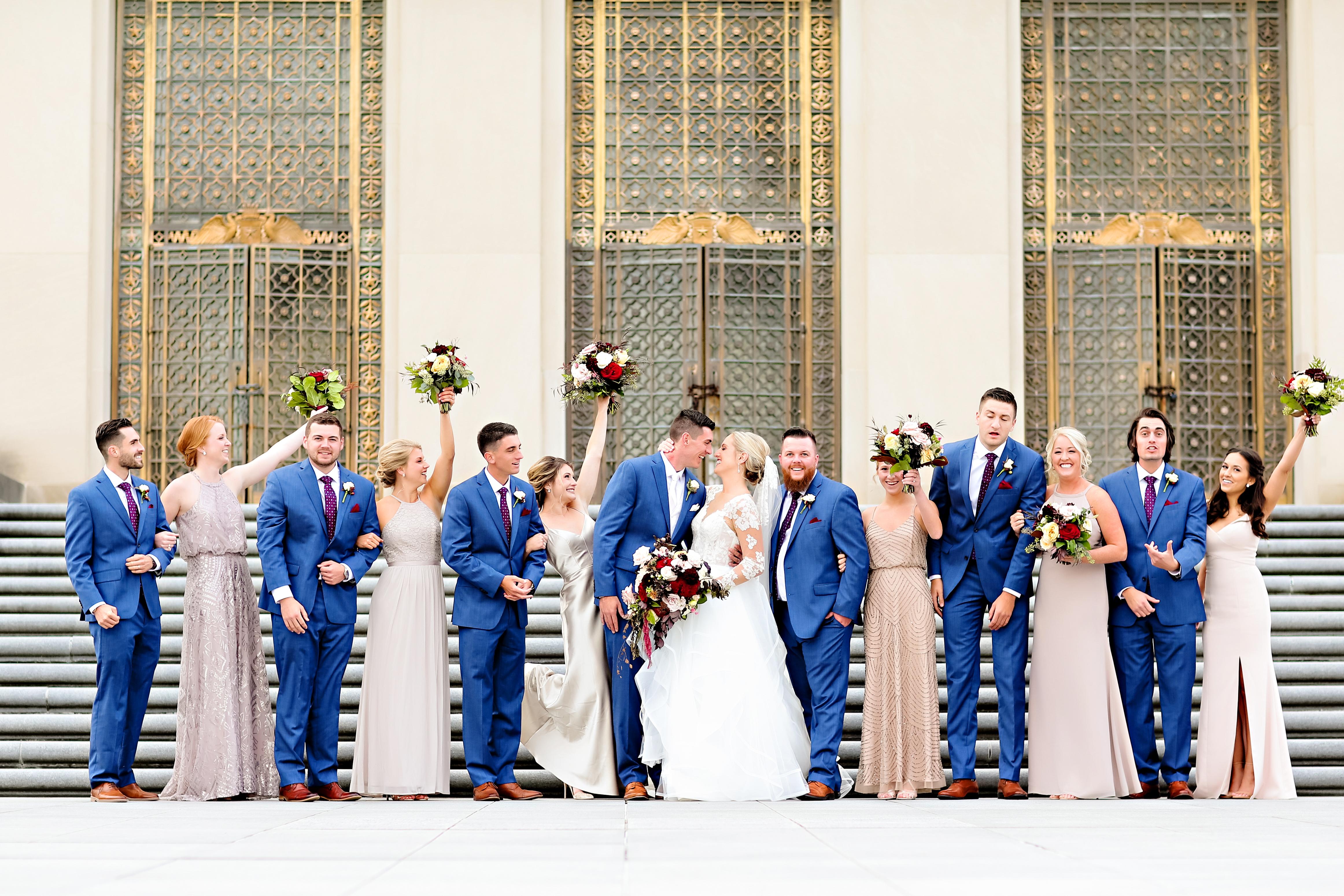 Jordan Ryan Indiana Roof Ballroom Wedding 151