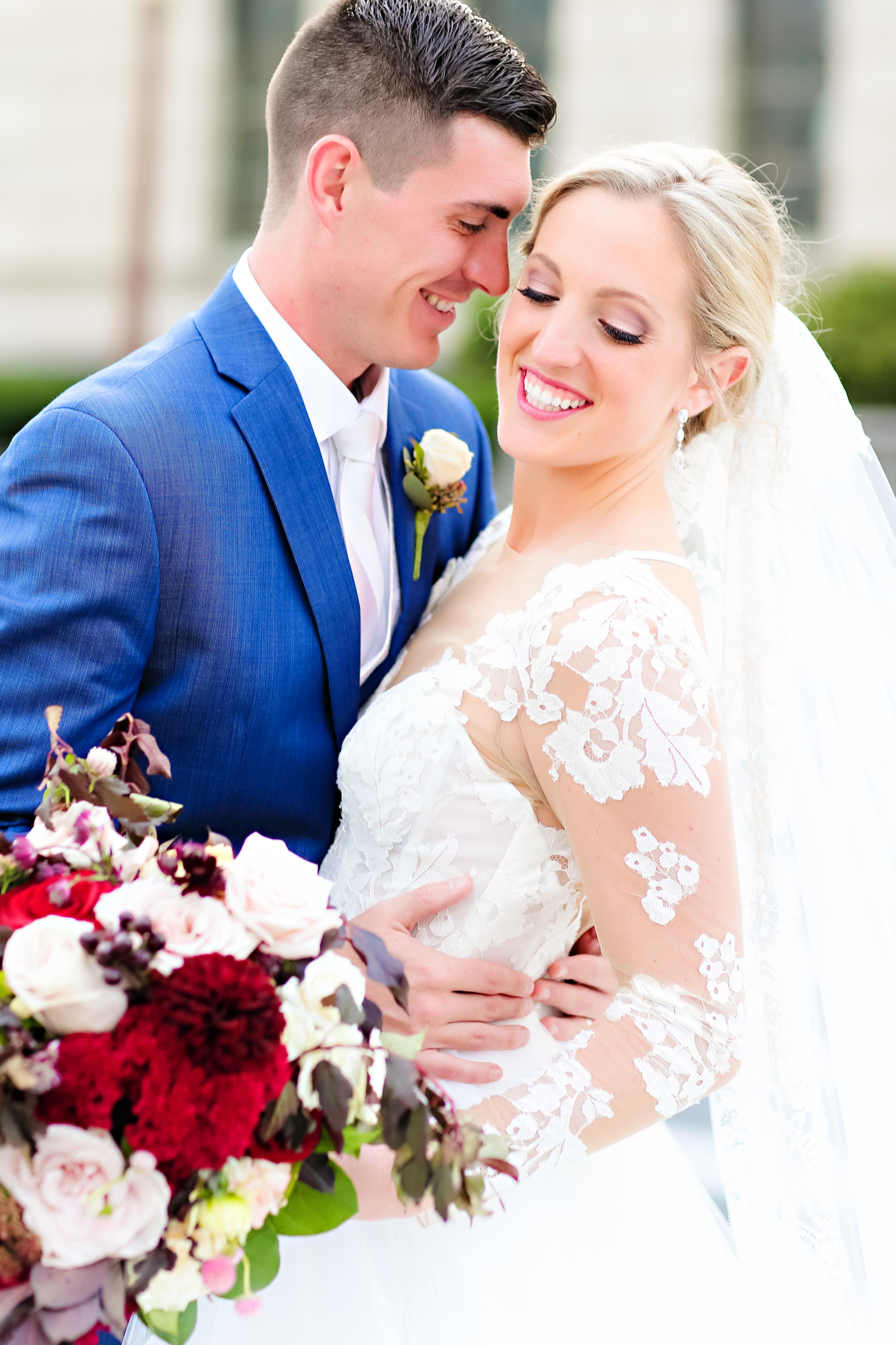 Jordan Ryan Indiana Roof Ballroom Wedding 150