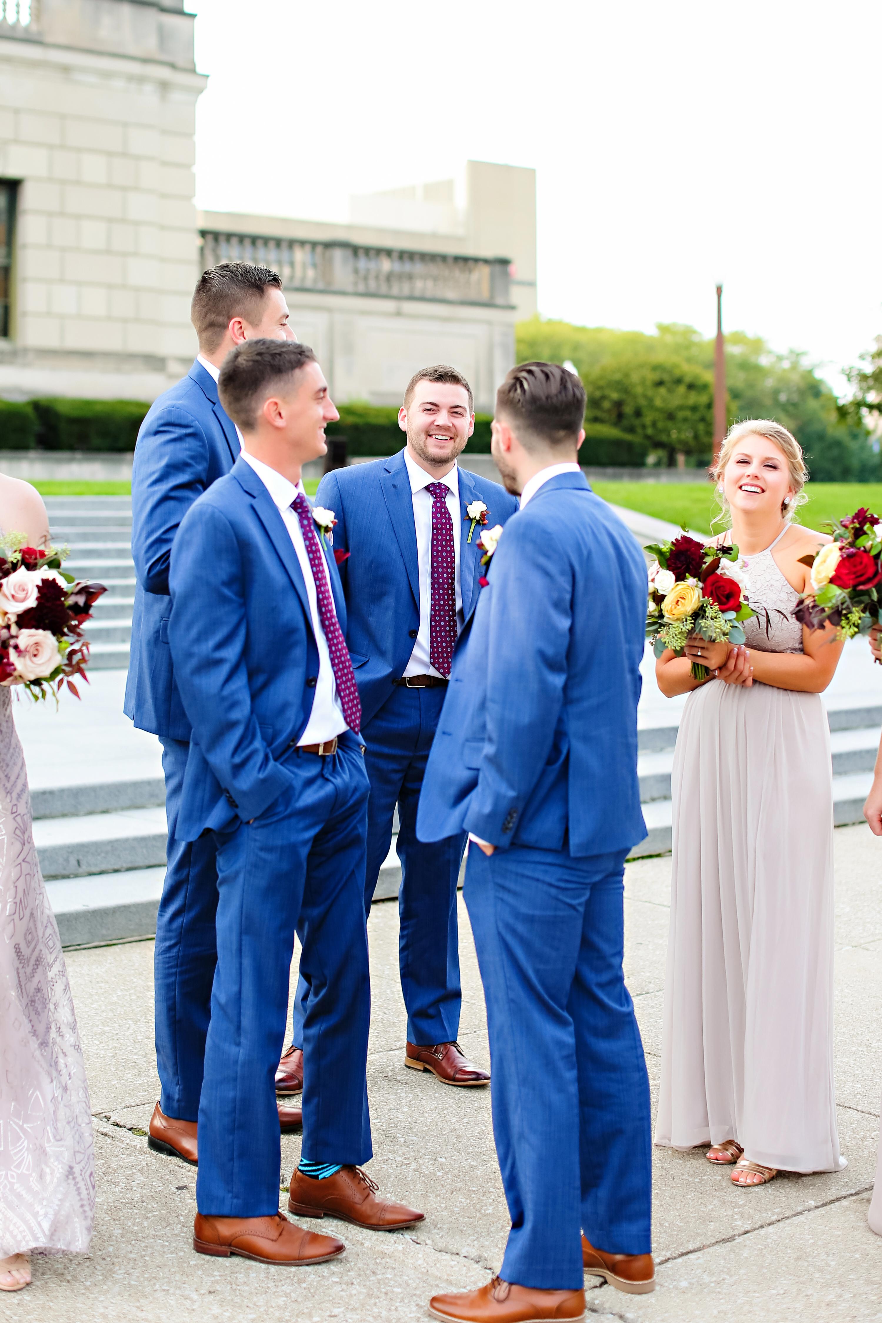 Jordan Ryan Indiana Roof Ballroom Wedding 148
