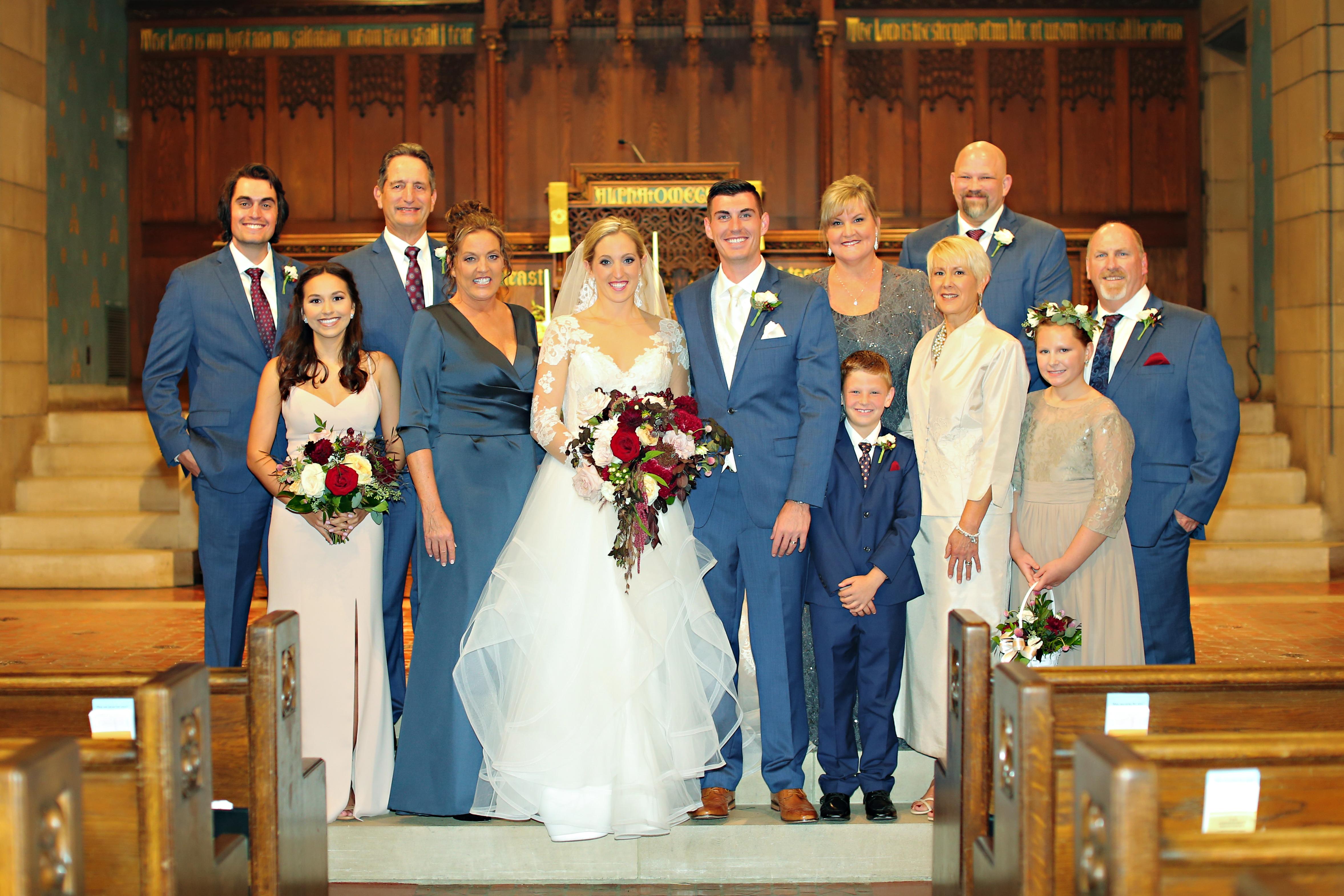 Jordan Ryan Indiana Roof Ballroom Wedding 137