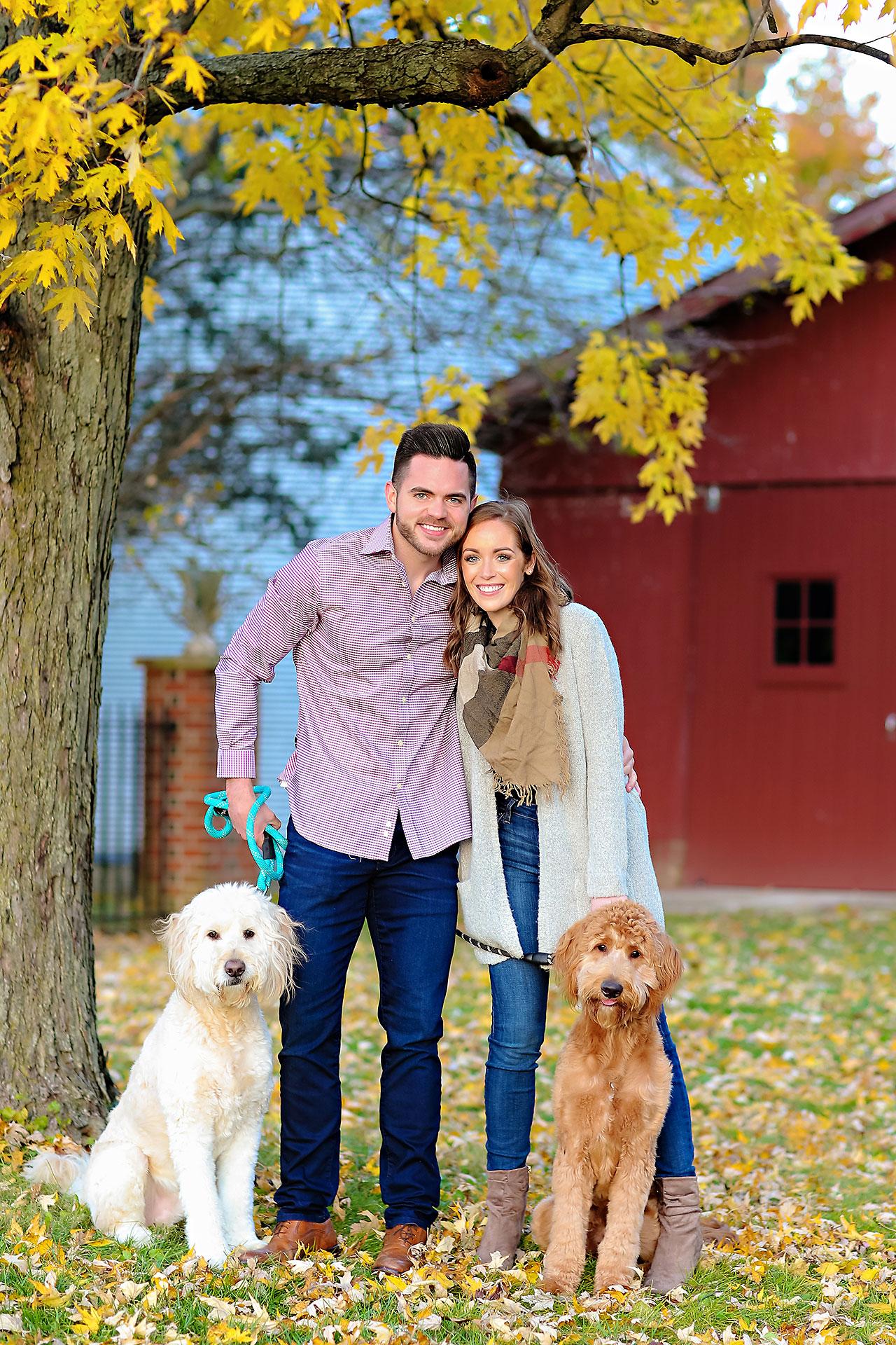 Callie Josh Carmel Indiana Engagement Session 121