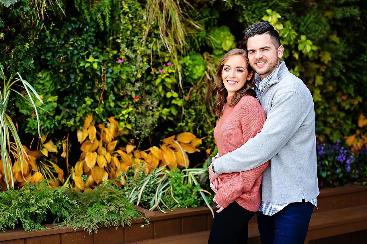 Callie Josh Carmel Indiana Engagement Session 064
