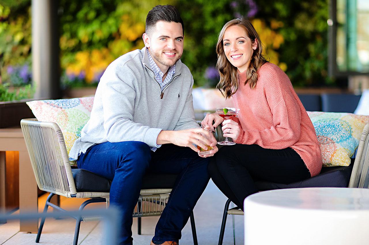 Callie Josh Carmel Indiana Engagement Session 062