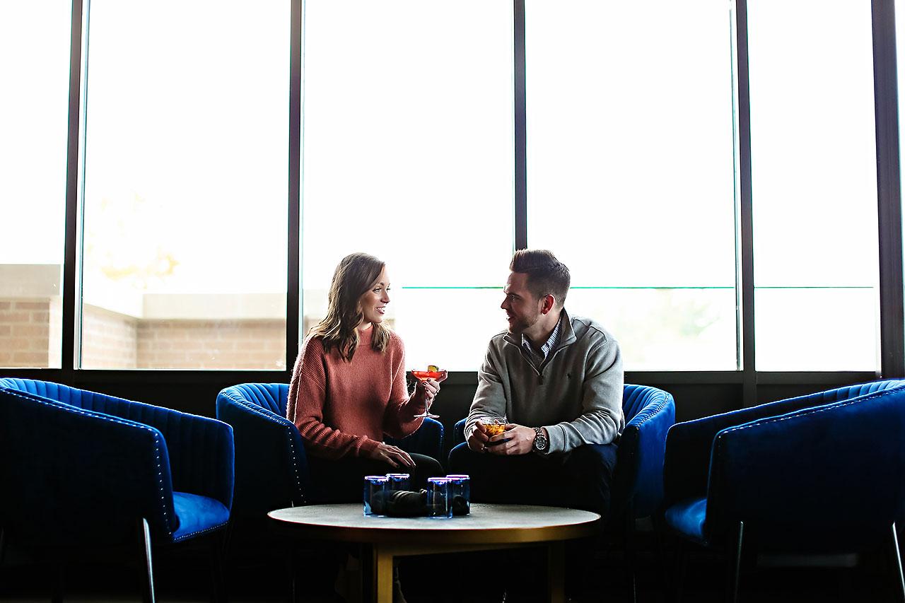 Callie Josh Carmel Indiana Engagement Session 056