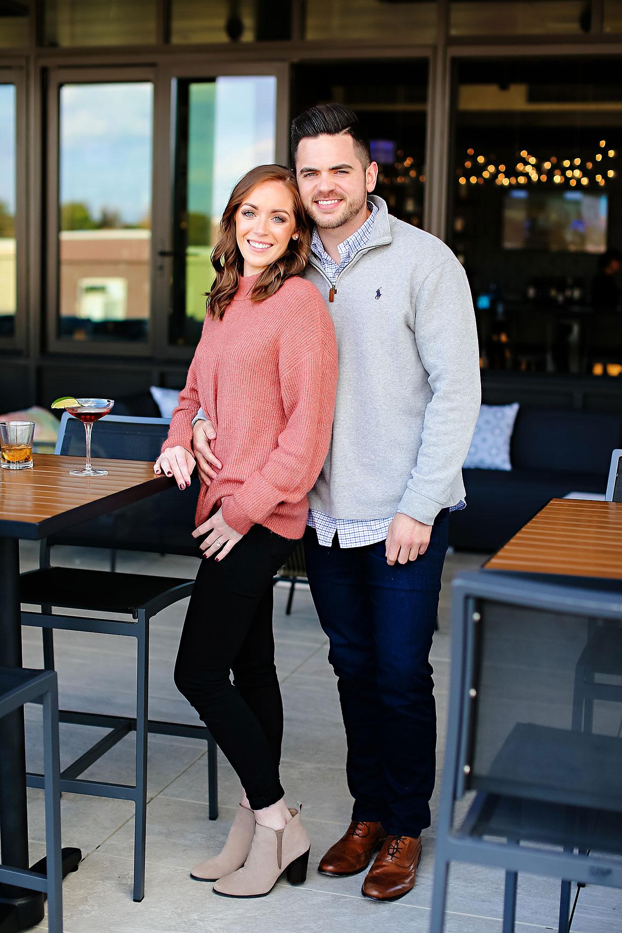 Callie Josh Carmel Indiana Engagement Session 050