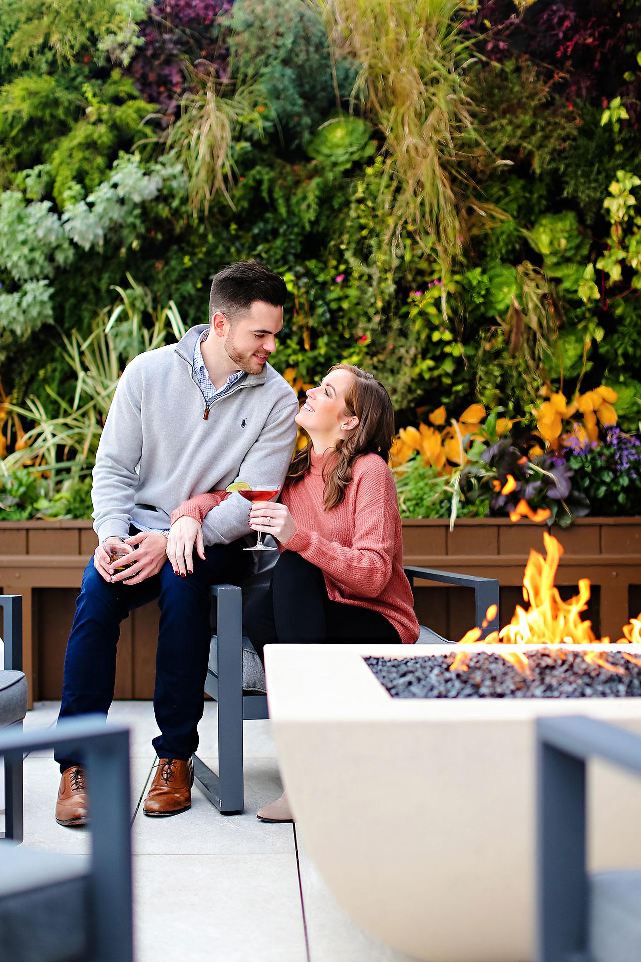 Callie Josh Carmel Indiana Engagement Session 048