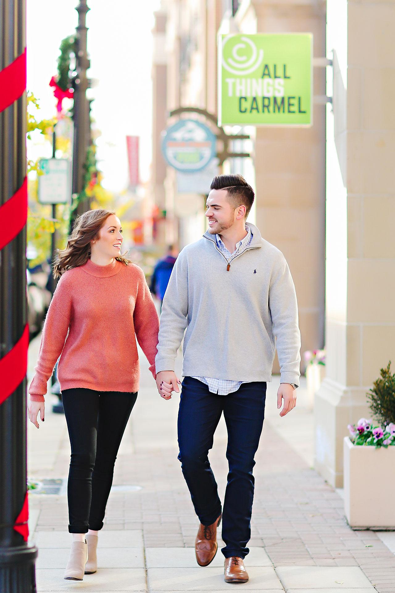 Callie Josh Carmel Indiana Engagement Session 038