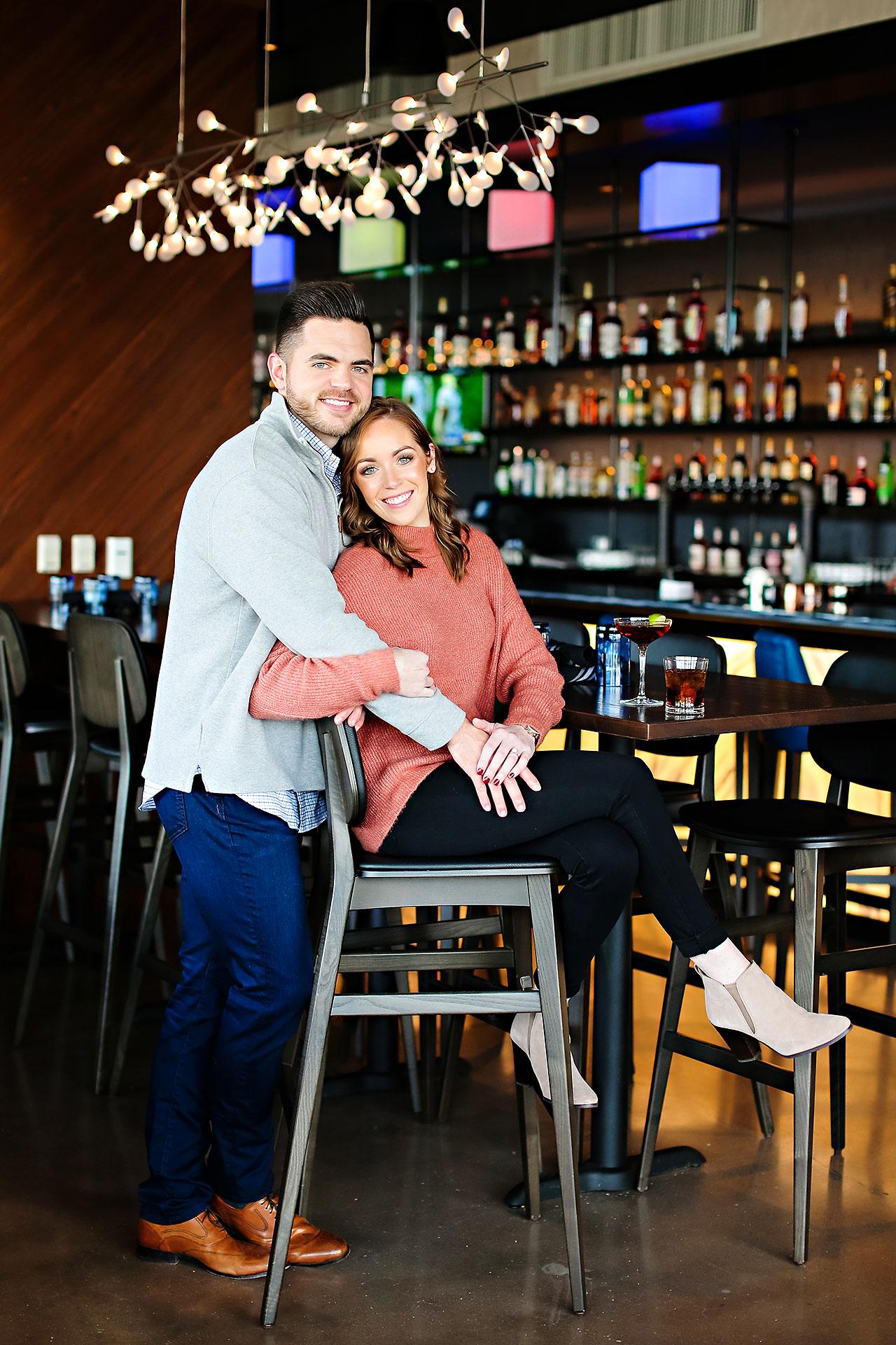Callie Josh Carmel Indiana Engagement Session 035