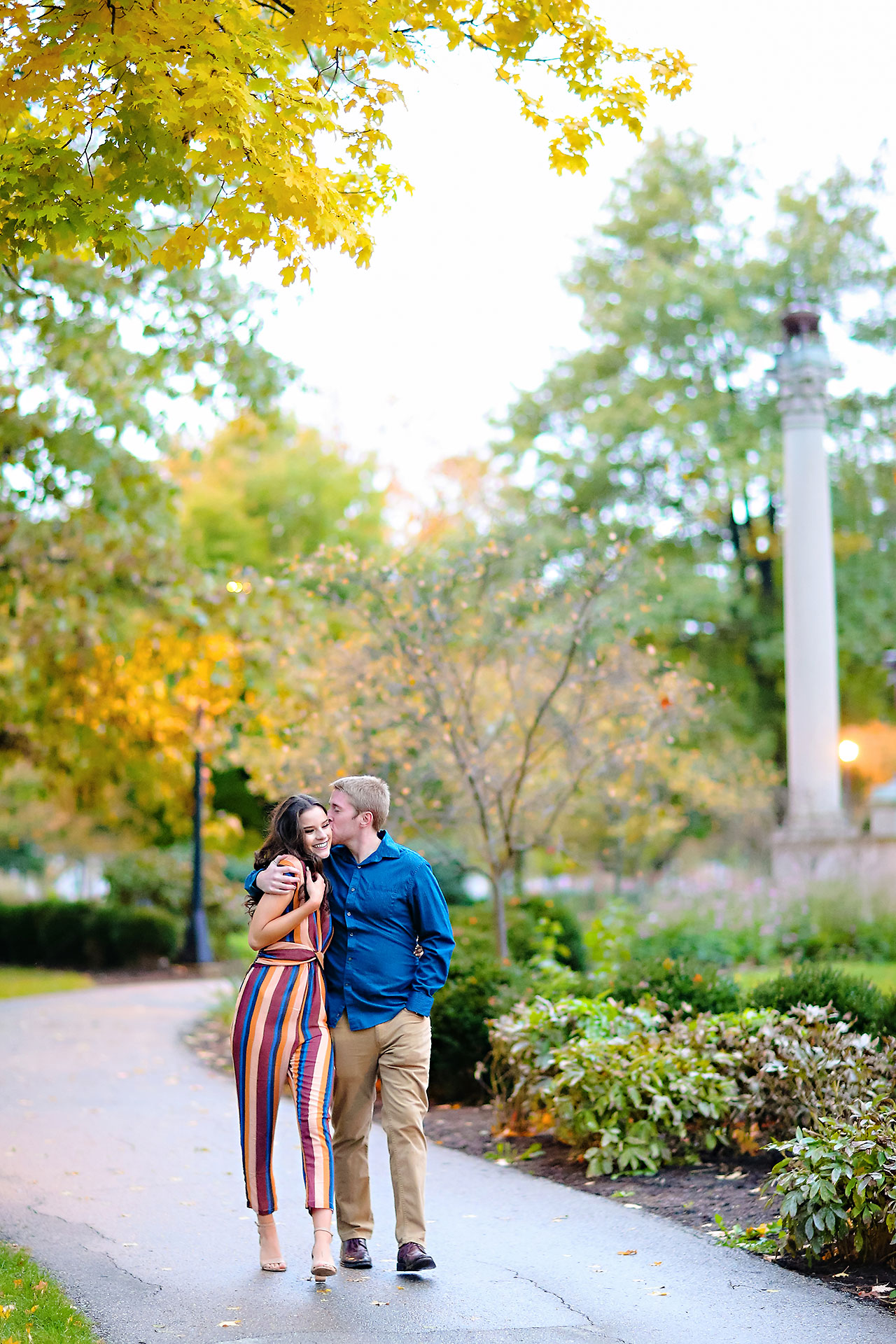 Hannah Ian Ball State Engagement Session 123