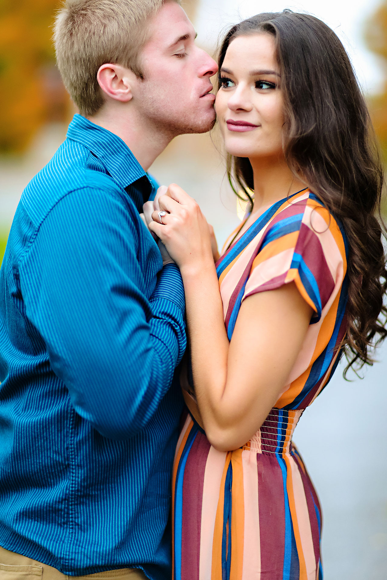 Hannah Ian Ball State Engagement Session 105