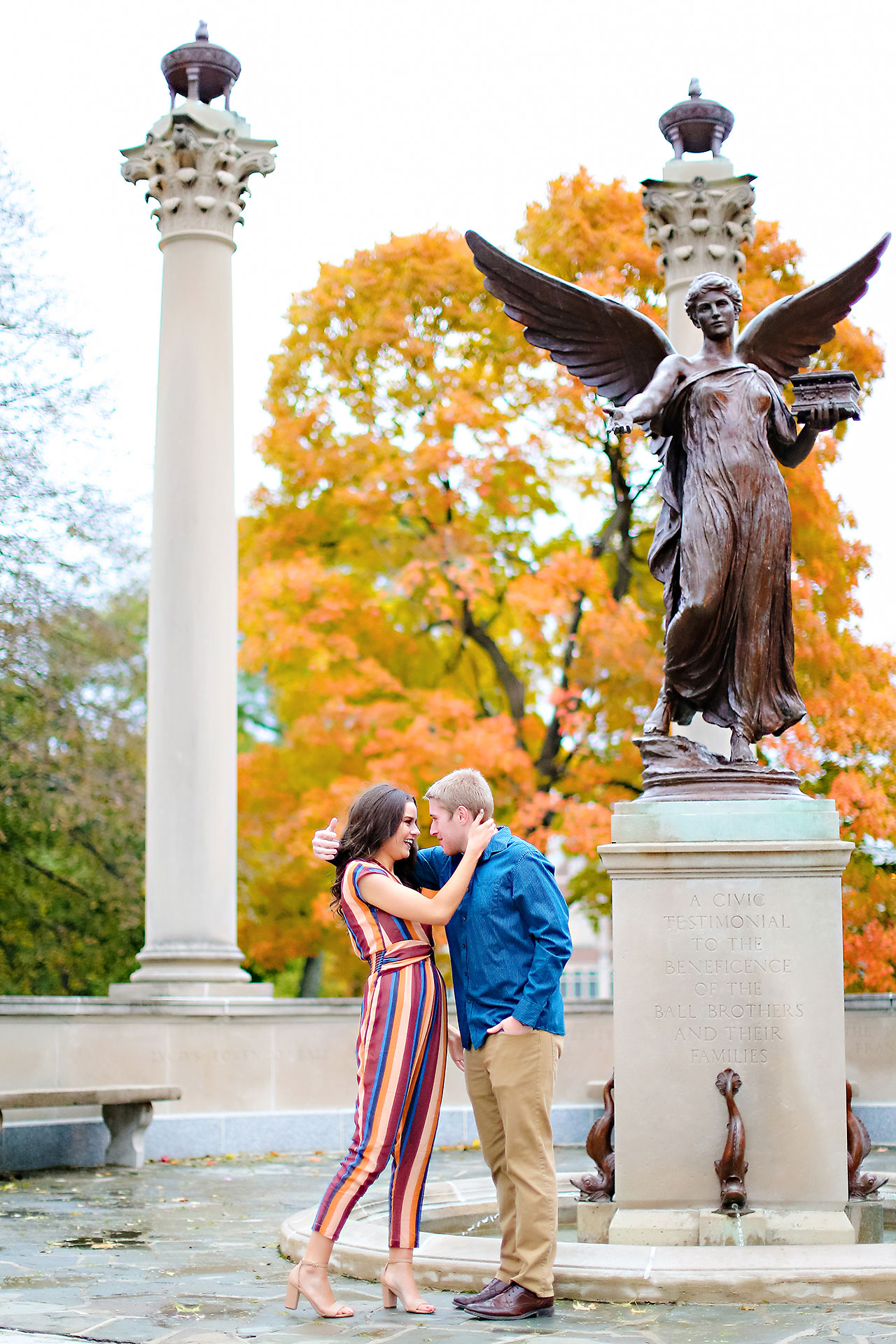 Hannah Ian Ball State Engagement Session 106