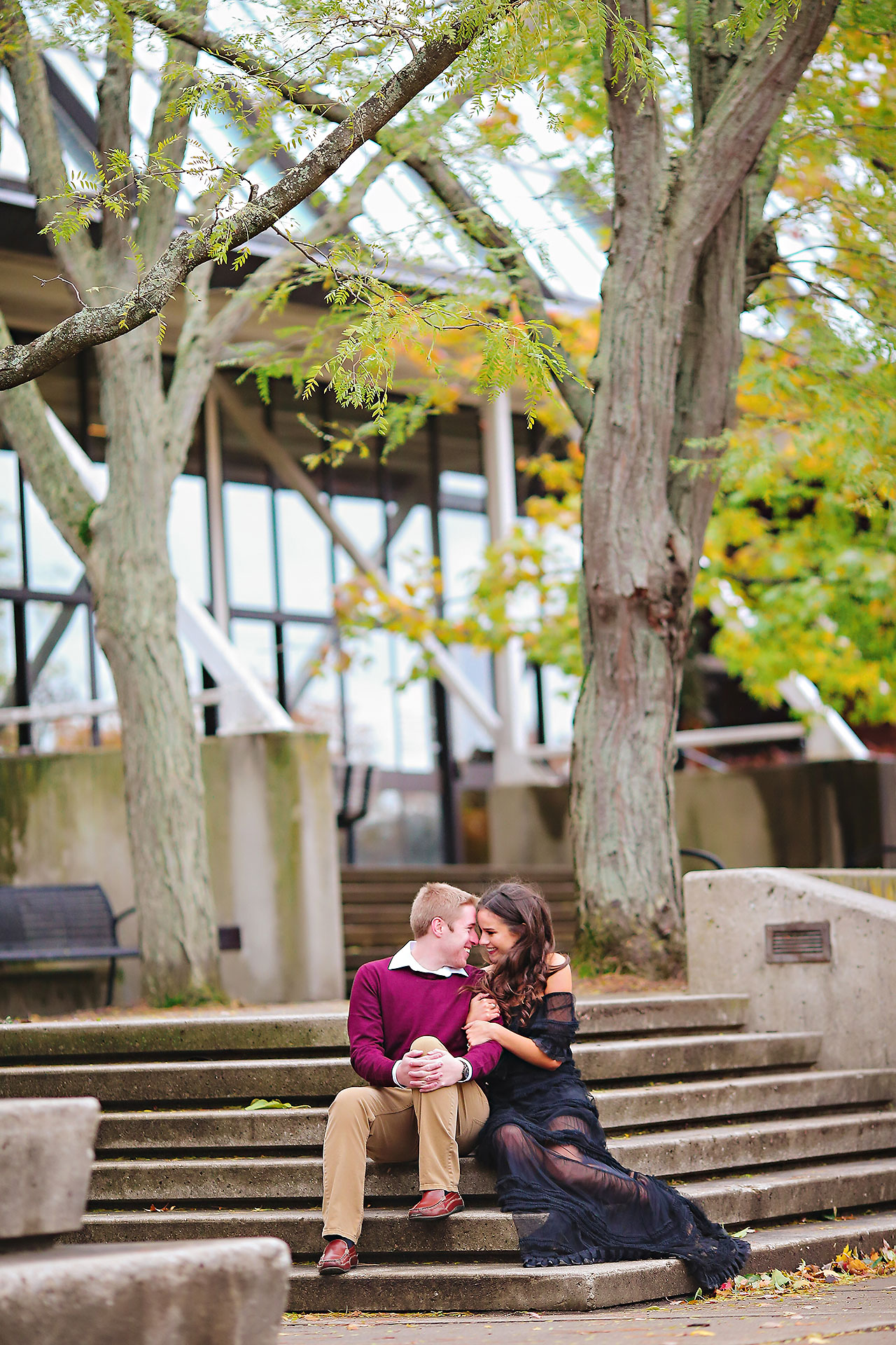 Hannah Ian Ball State Engagement Session 101