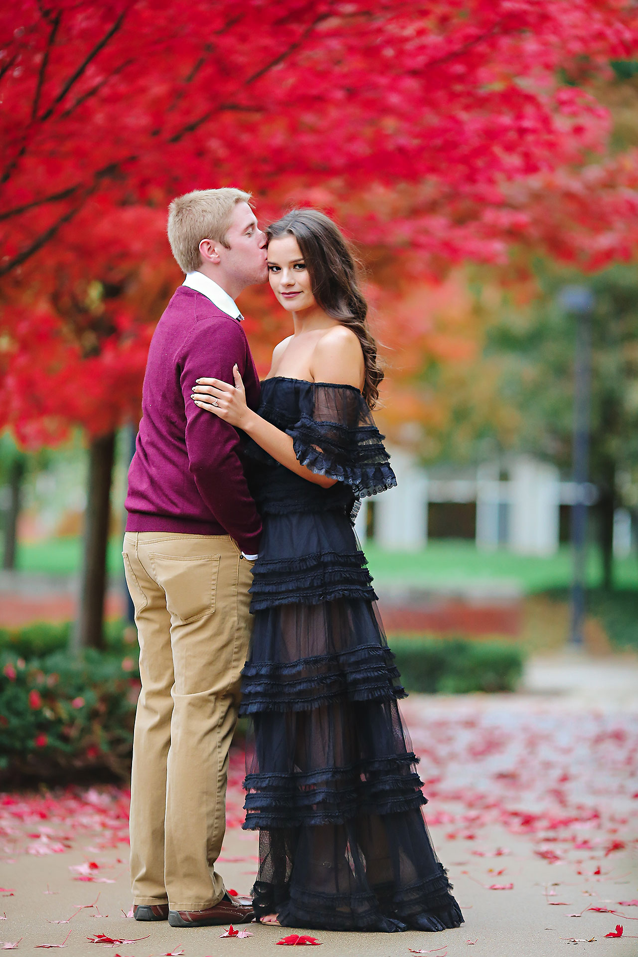 Hannah Ian Ball State Engagement Session 097