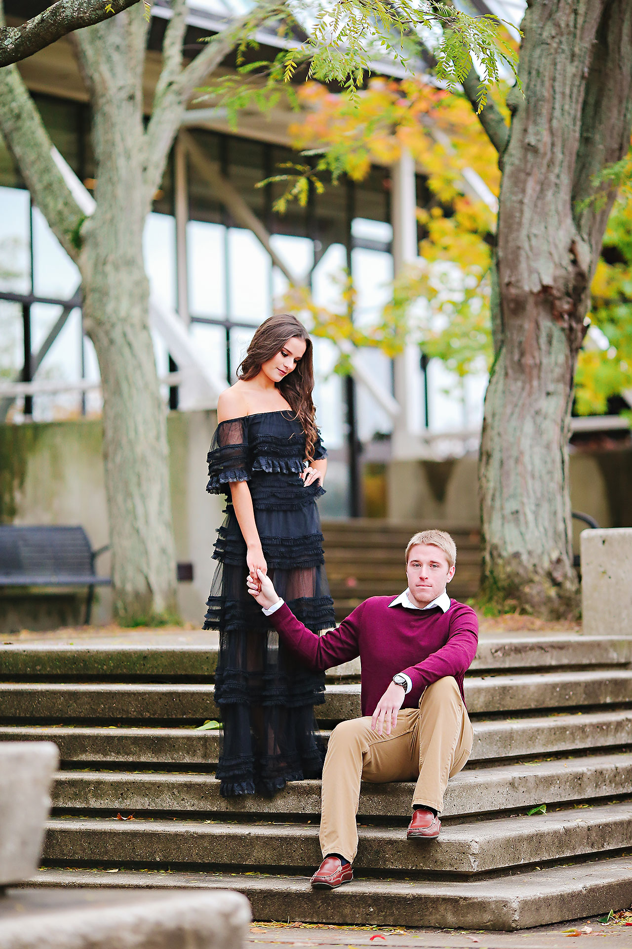 Hannah Ian Ball State Engagement Session 095