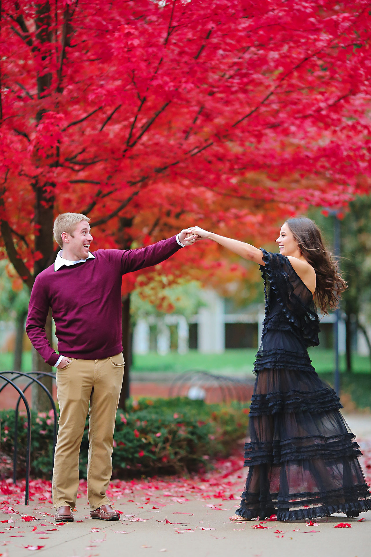 Hannah Ian Ball State Engagement Session 085